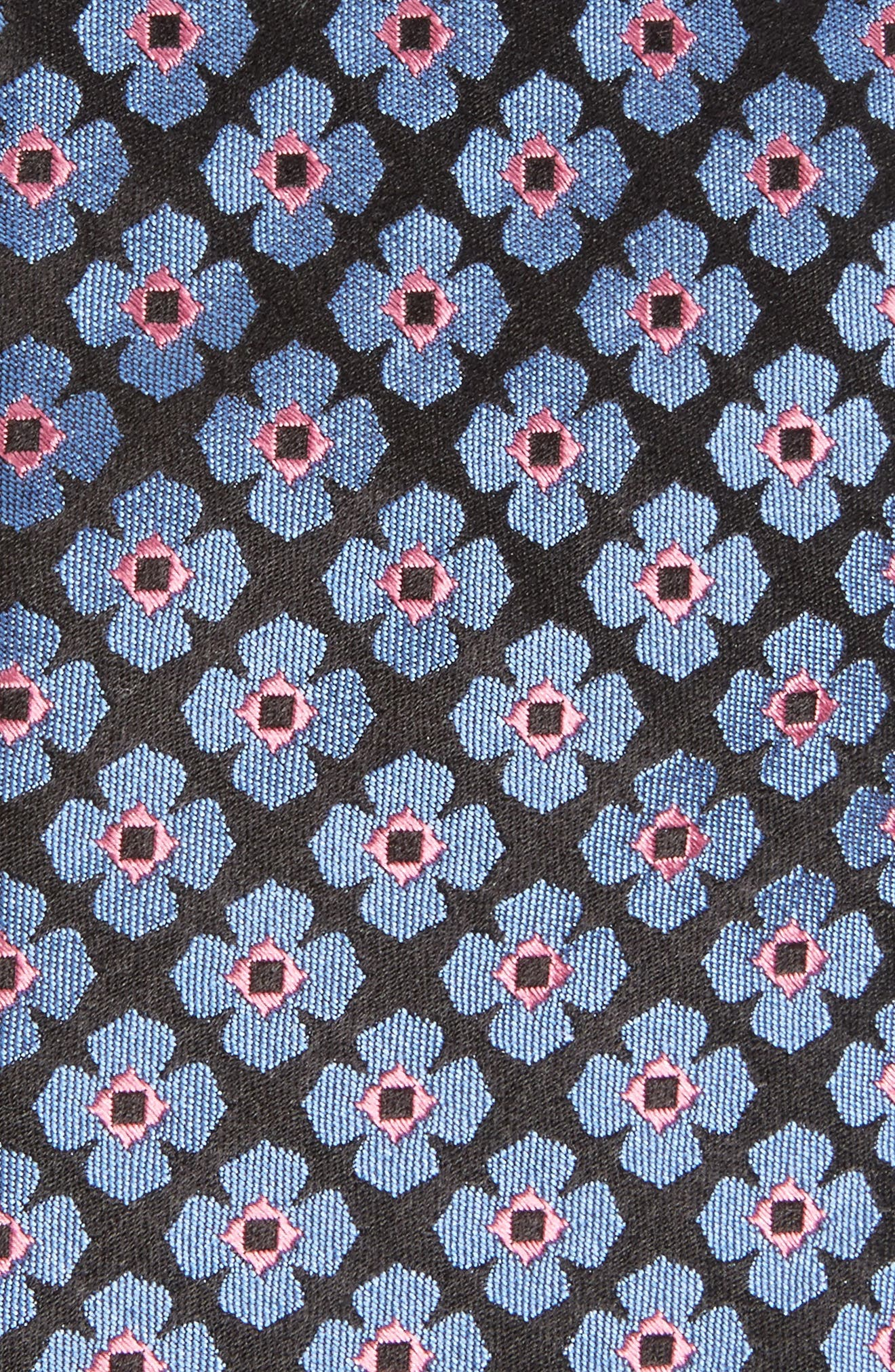 Floral Silk Tie,                             Alternate thumbnail 2, color,