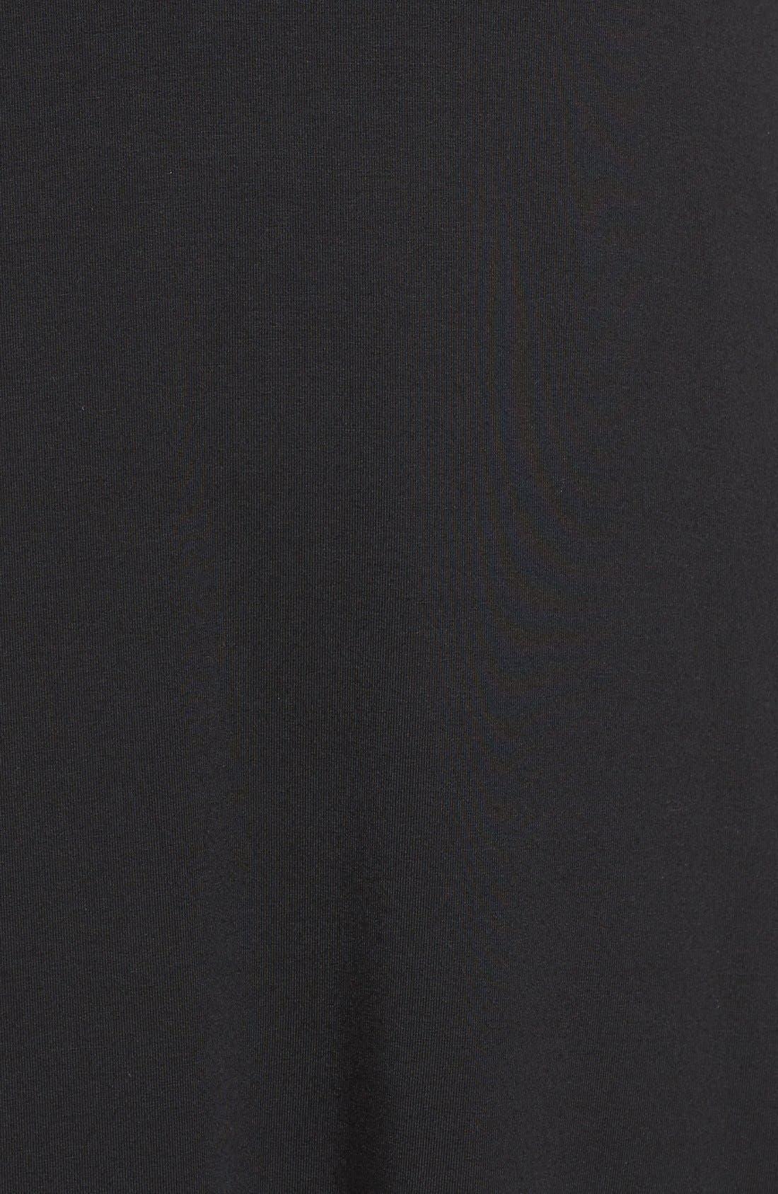 Sally Turtleneck A-Line Dress,                             Alternate thumbnail 10, color,                             001