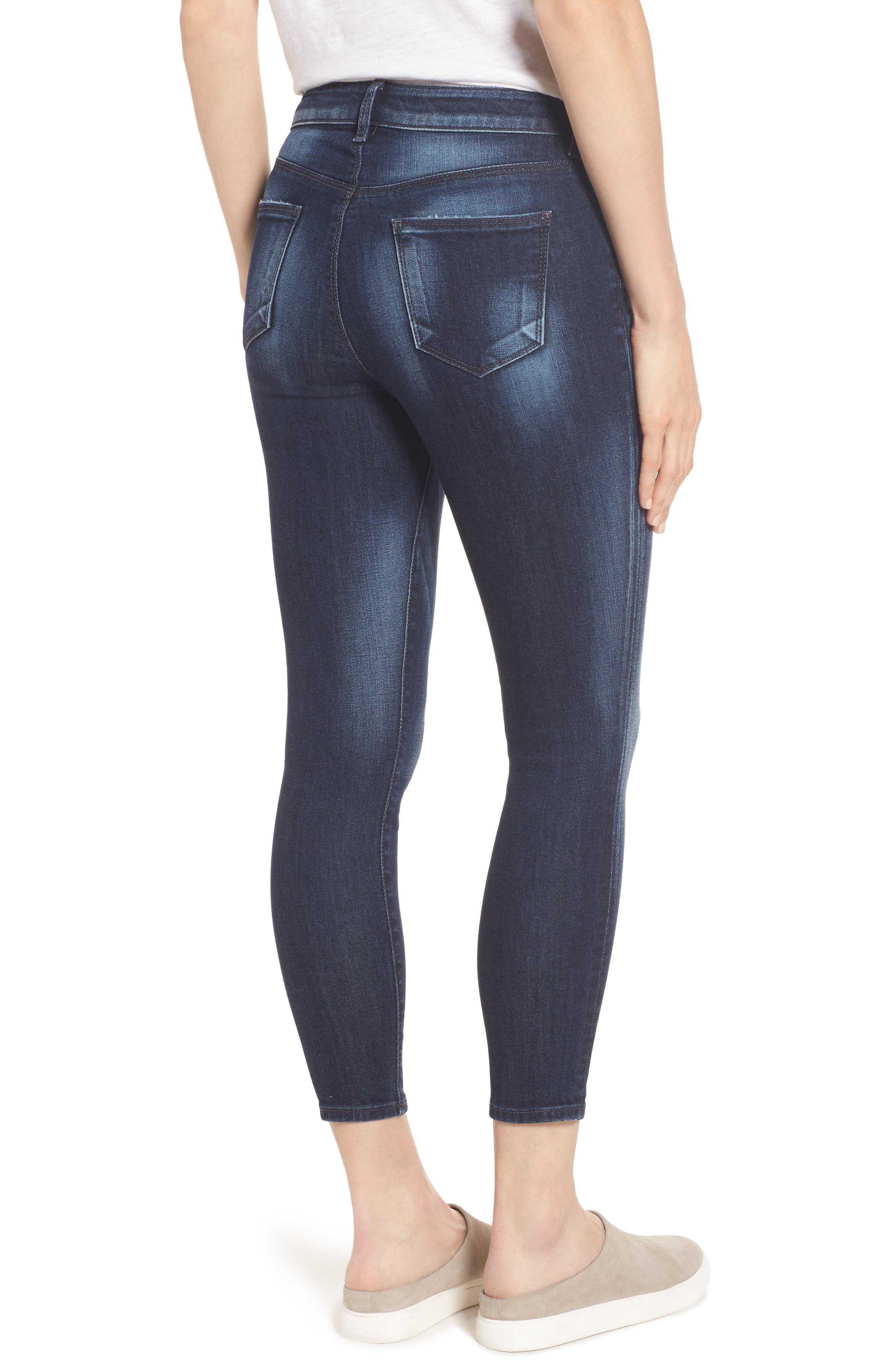 Diana Curvy Fit Crop Skinny Jeans,                             Alternate thumbnail 2, color,                             470