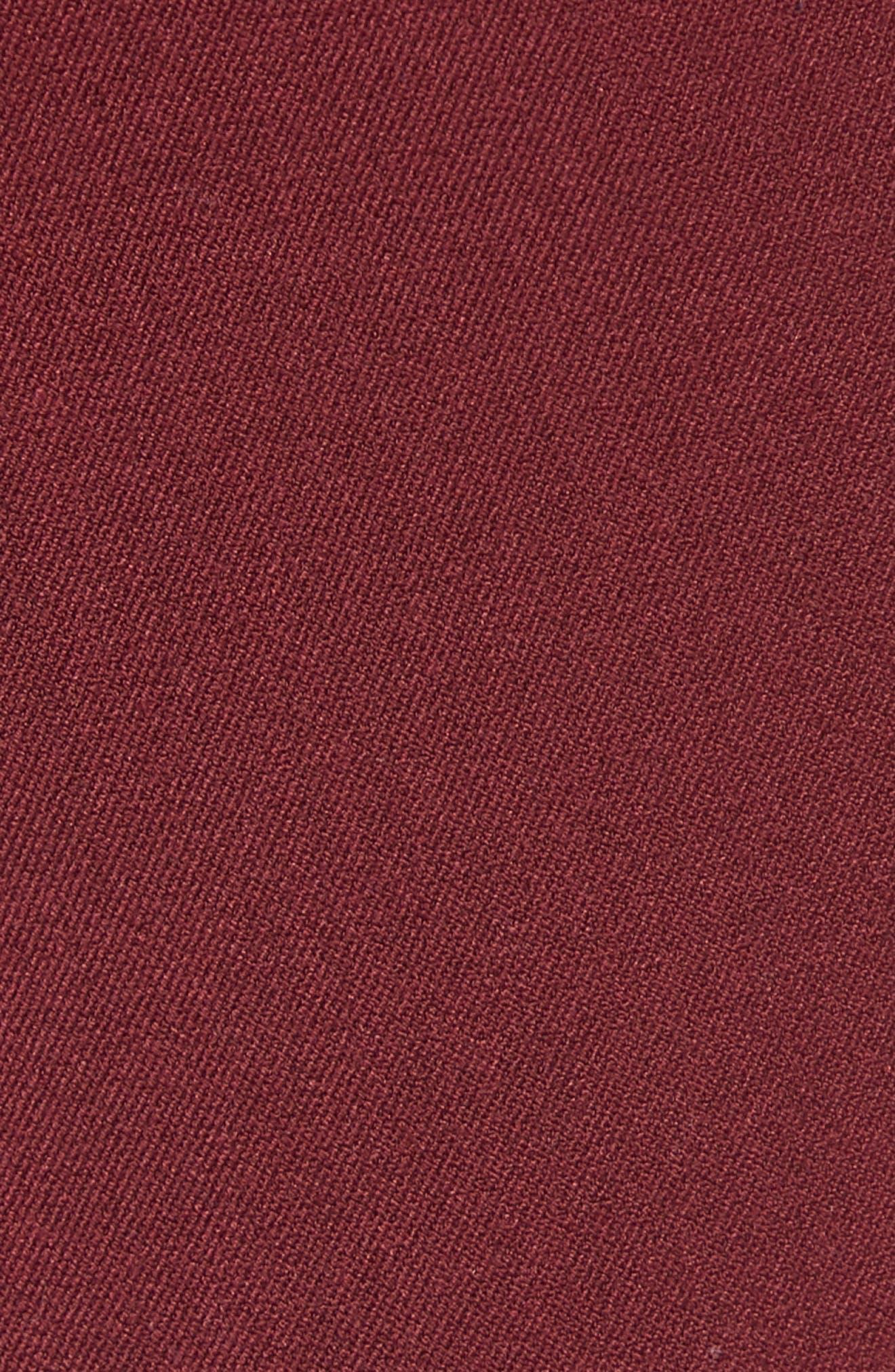 Skinny Fit Trousers,                             Alternate thumbnail 5, color,                             PURPLE