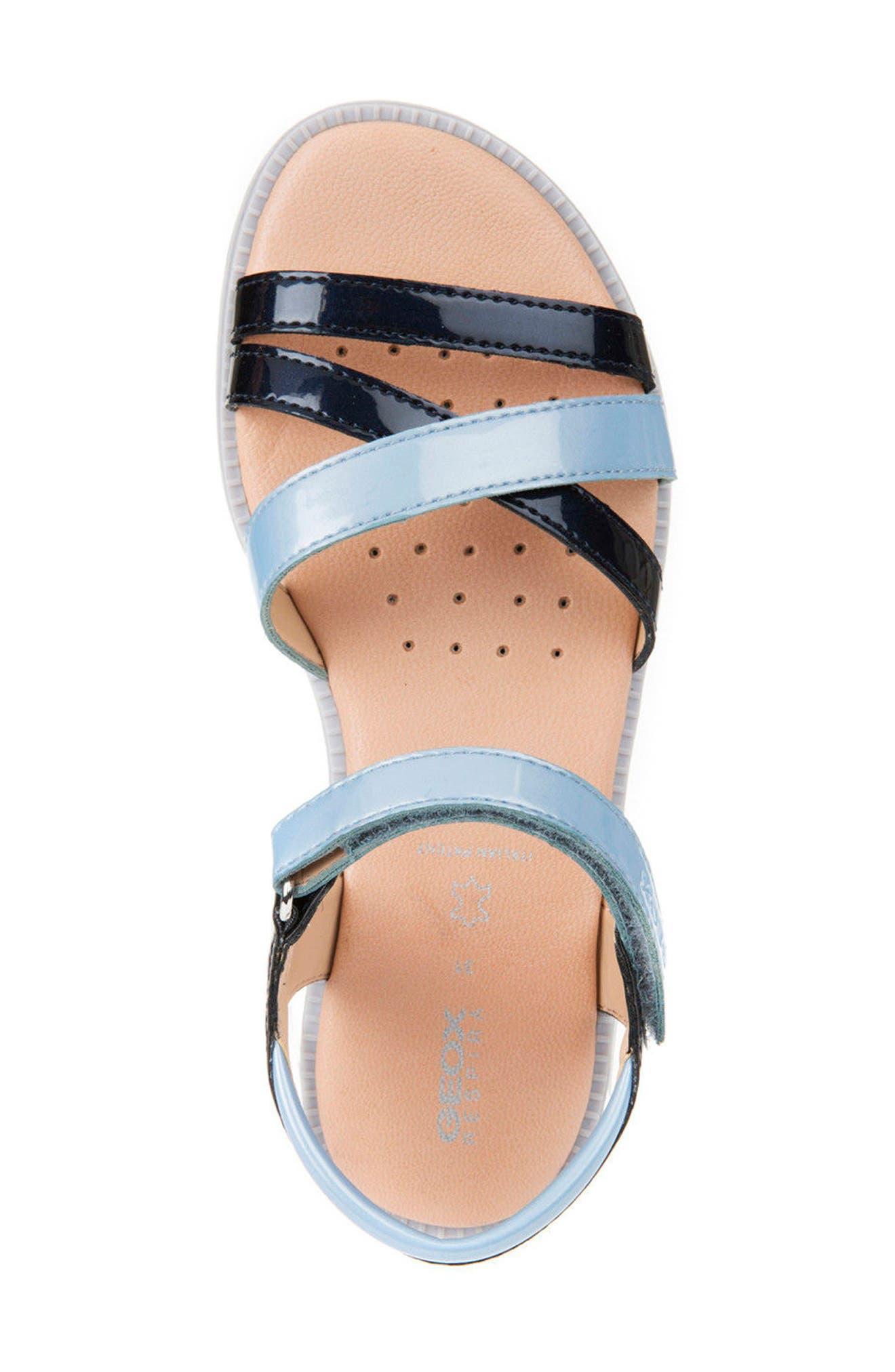 Karly Girl Sandal,                             Alternate thumbnail 5, color,                             420