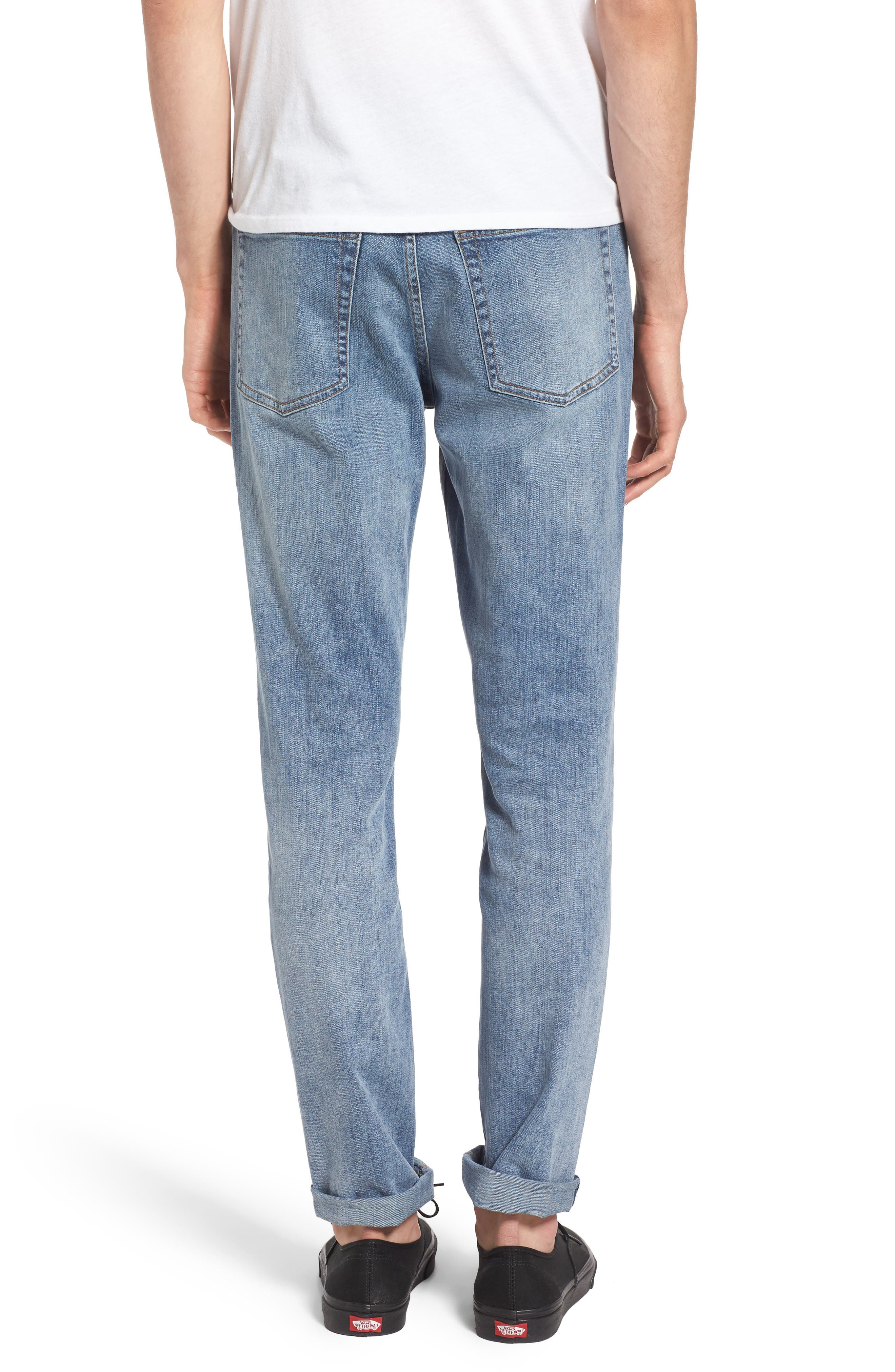 Sonic Skinny Fit Jeans,                             Alternate thumbnail 2, color,                             458
