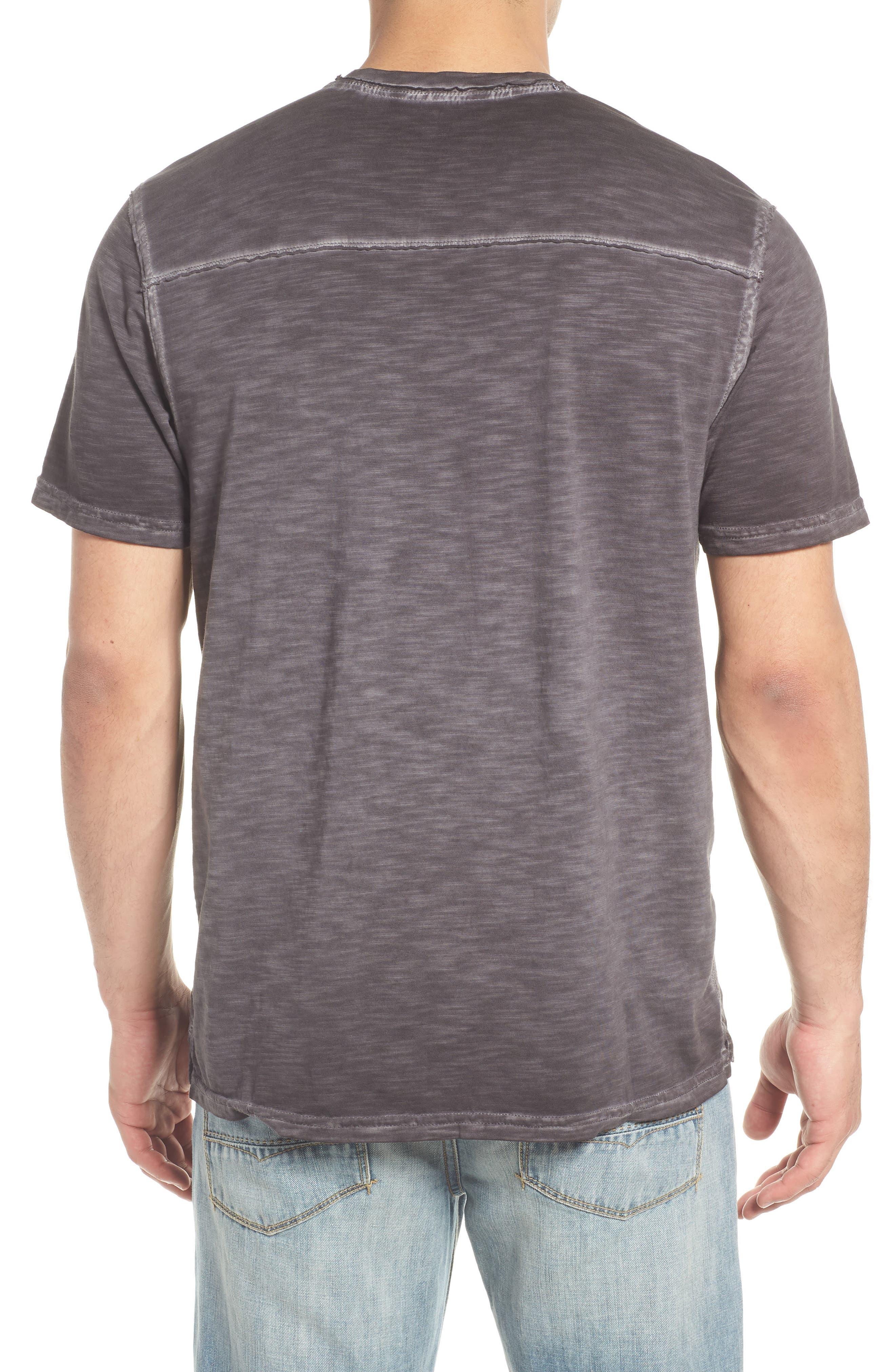 Suncoast Shores V-Neck T-Shirt,                             Alternate thumbnail 2, color,                             COAL