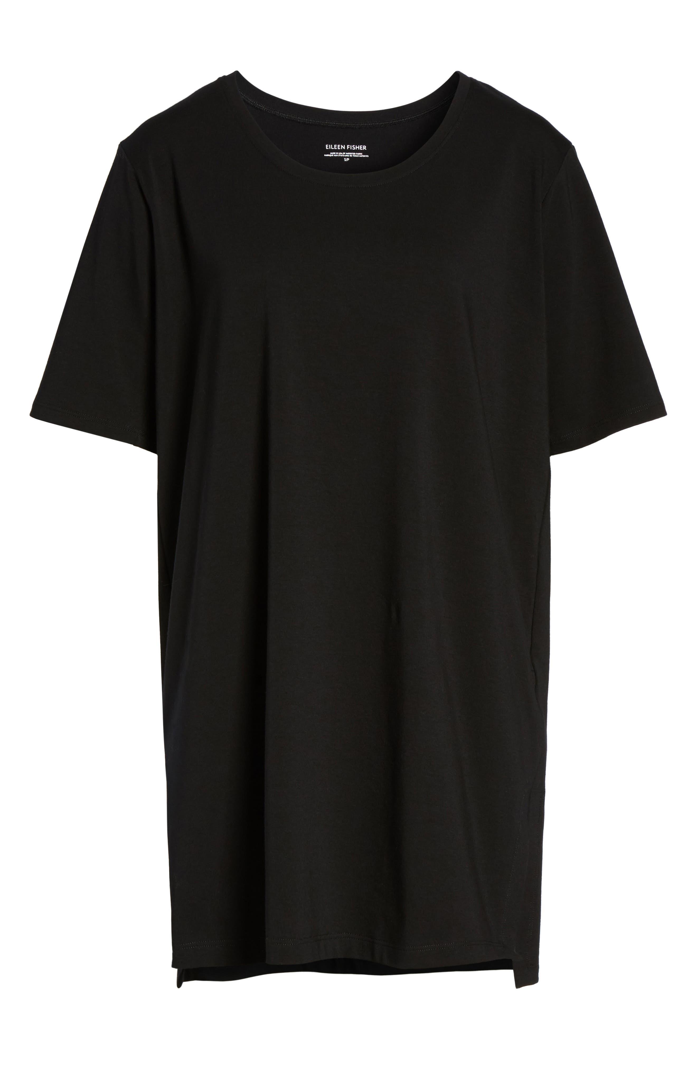 Stretch Organic Cotton Jersey Tunic,                             Alternate thumbnail 35, color,