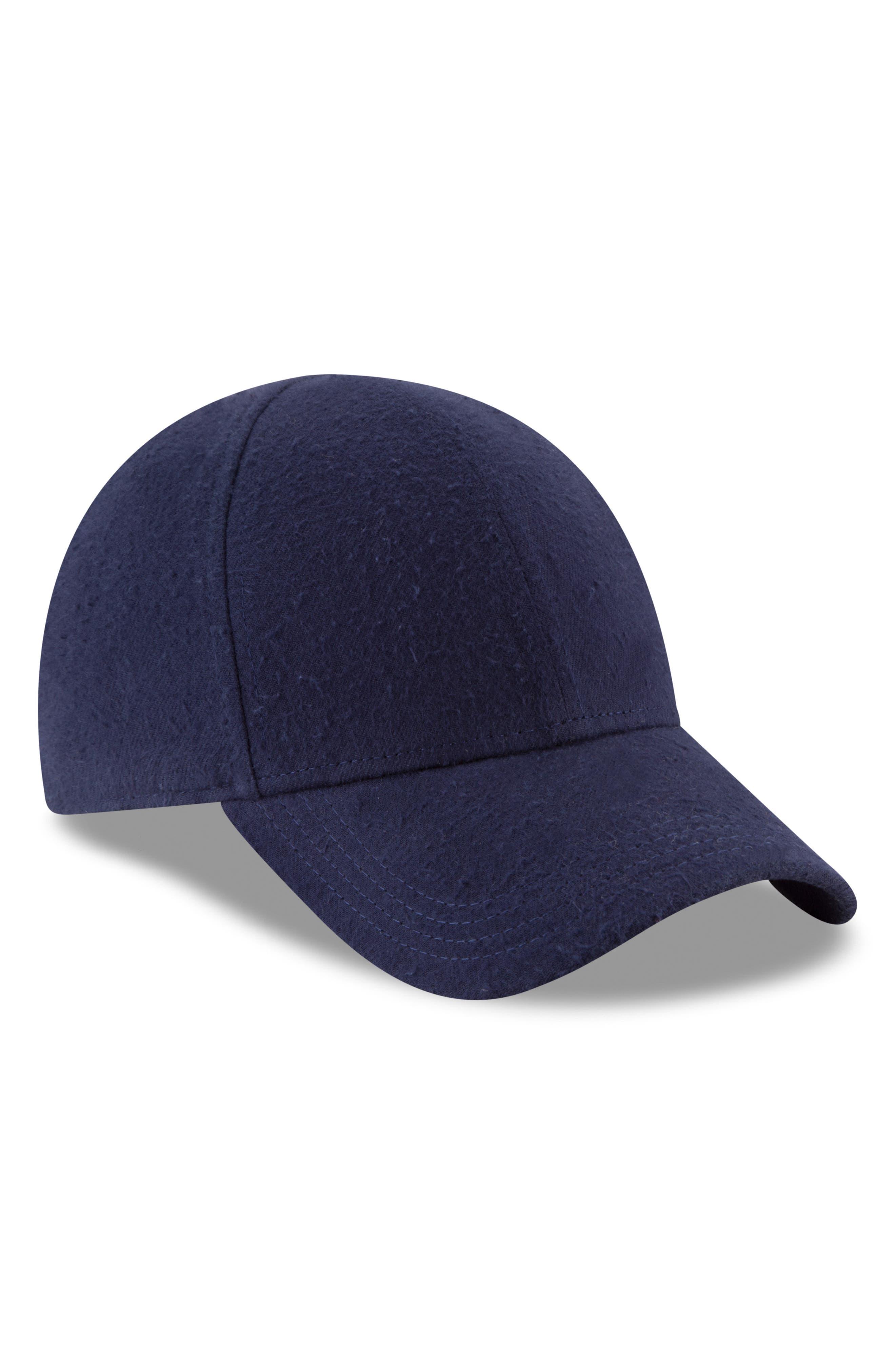 New Era 9Forty Fleece Baseball Cap,                             Alternate thumbnail 6, color,                             NAVY