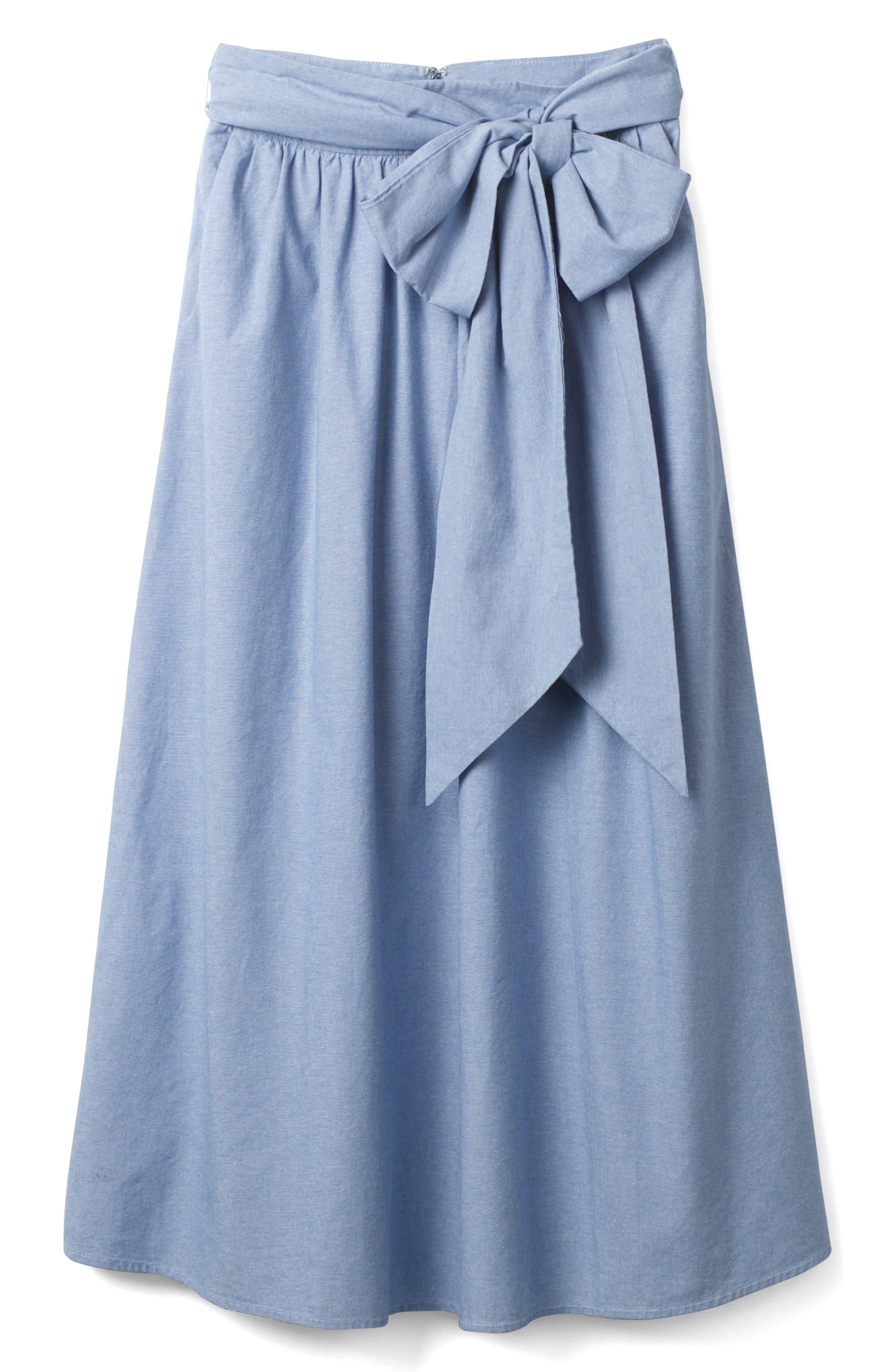 Kiera Midi Skirt,                             Alternate thumbnail 3, color,                             469