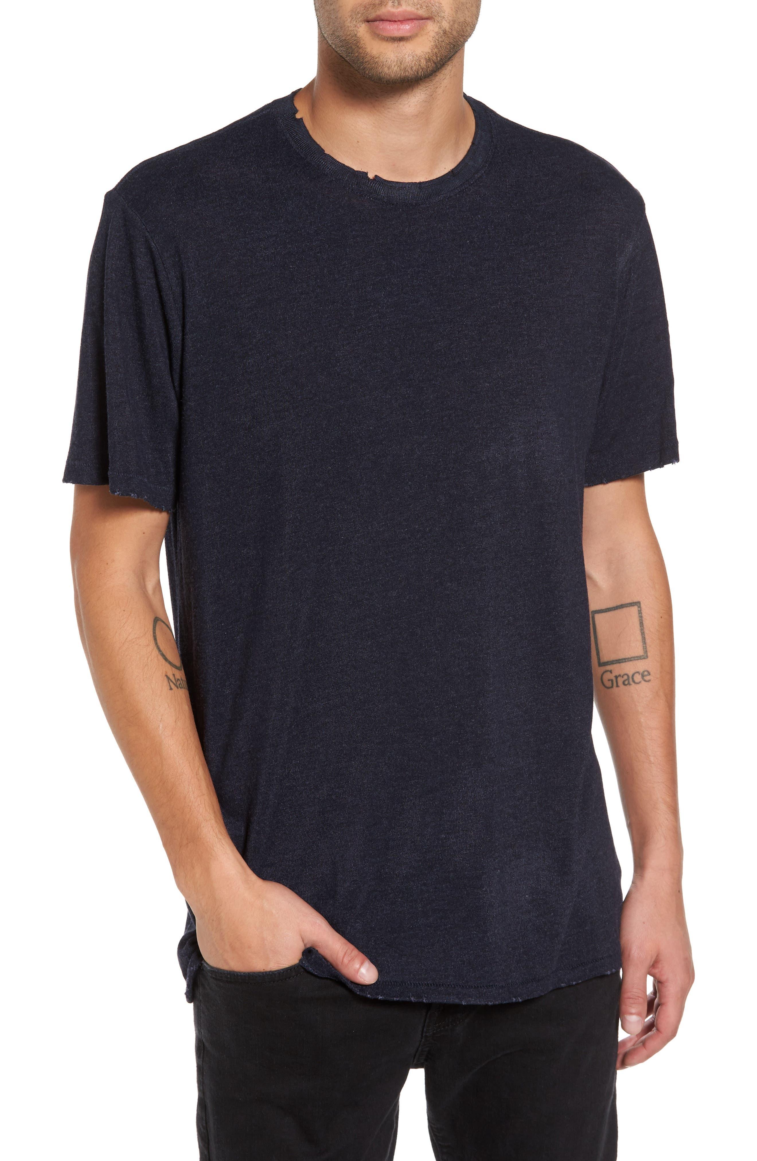 Core Crewneck T-Shirt,                             Main thumbnail 1, color,                             410