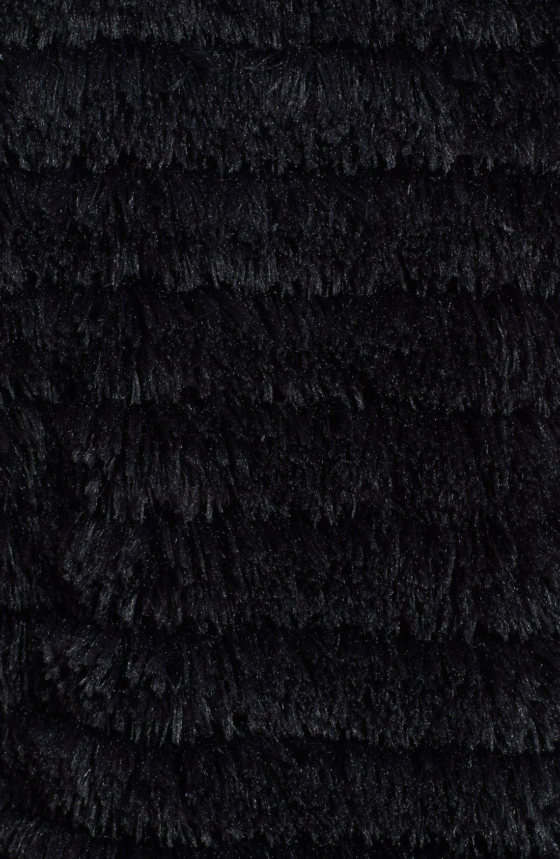 LARK,                             Tiered Tassel Vest,                             Alternate thumbnail 3, color,                             001