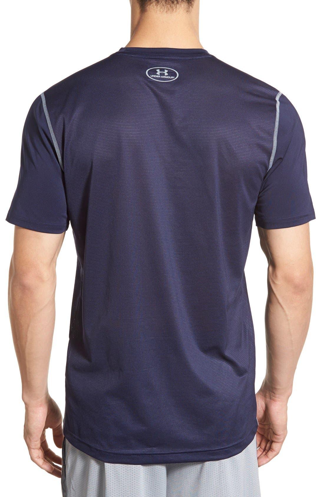 'Raid' HeatGear<sup>®</sup> Training T-Shirt,                             Alternate thumbnail 67, color,