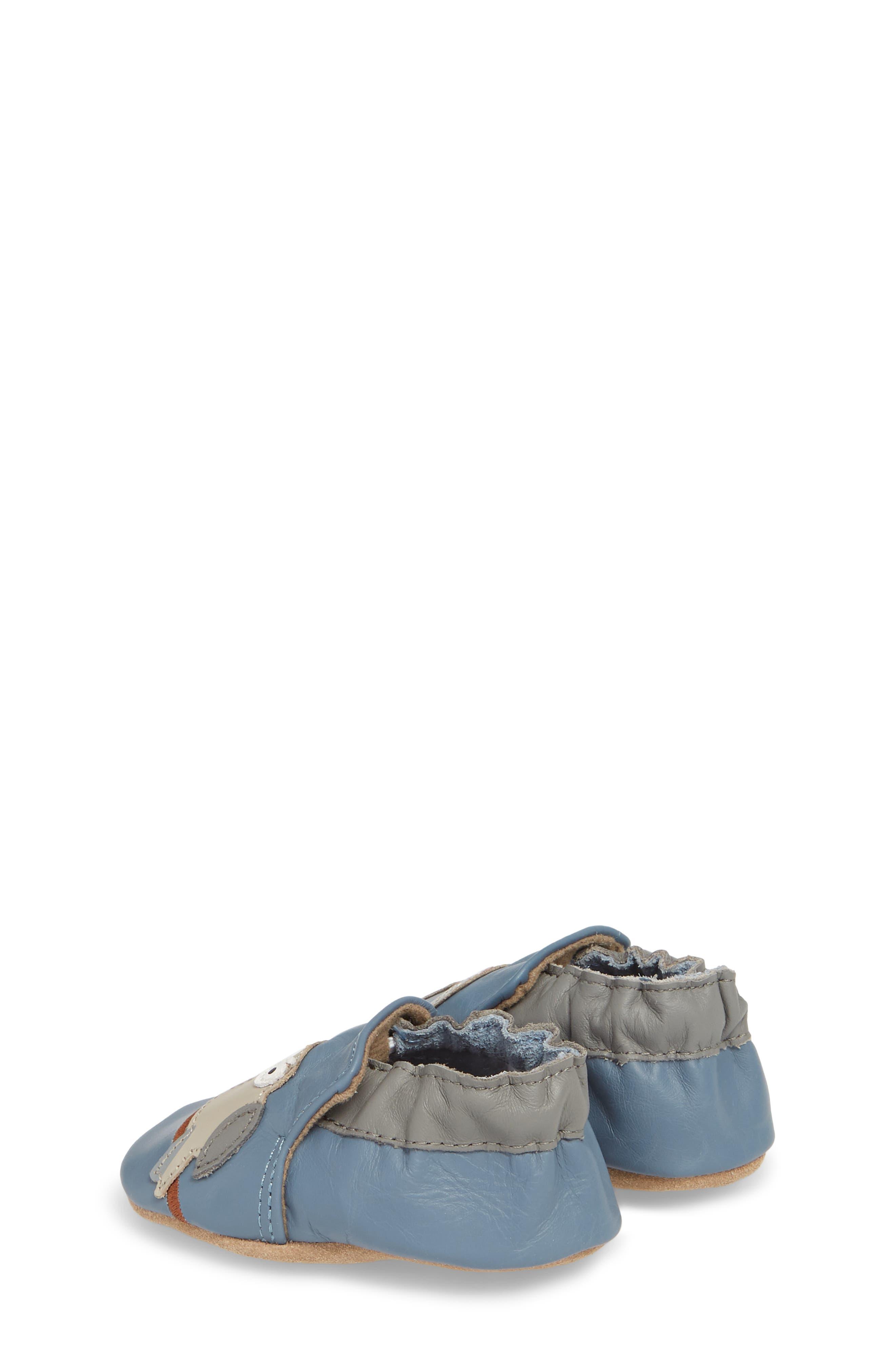 Toucan Tom Moccasin Crib Shoe,                             Alternate thumbnail 2, color,                             450