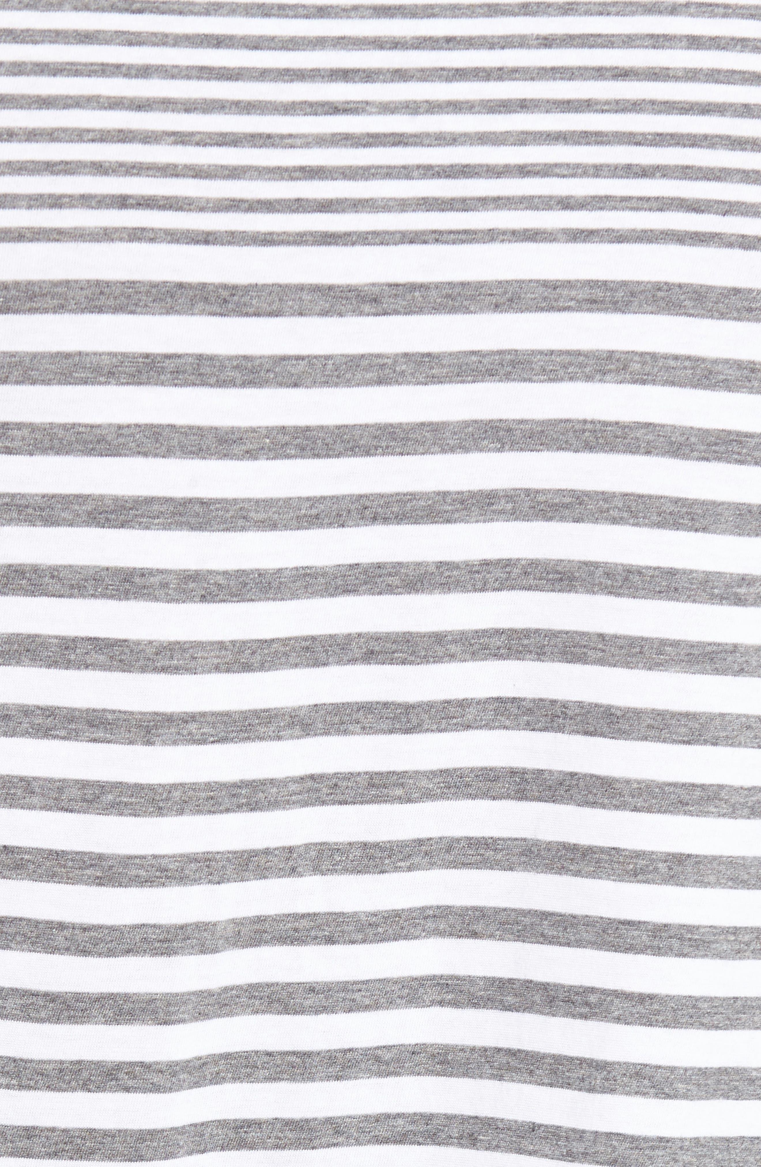 Tessler Slim Fit Stripe T-Shirt,                             Alternate thumbnail 5, color,                             030