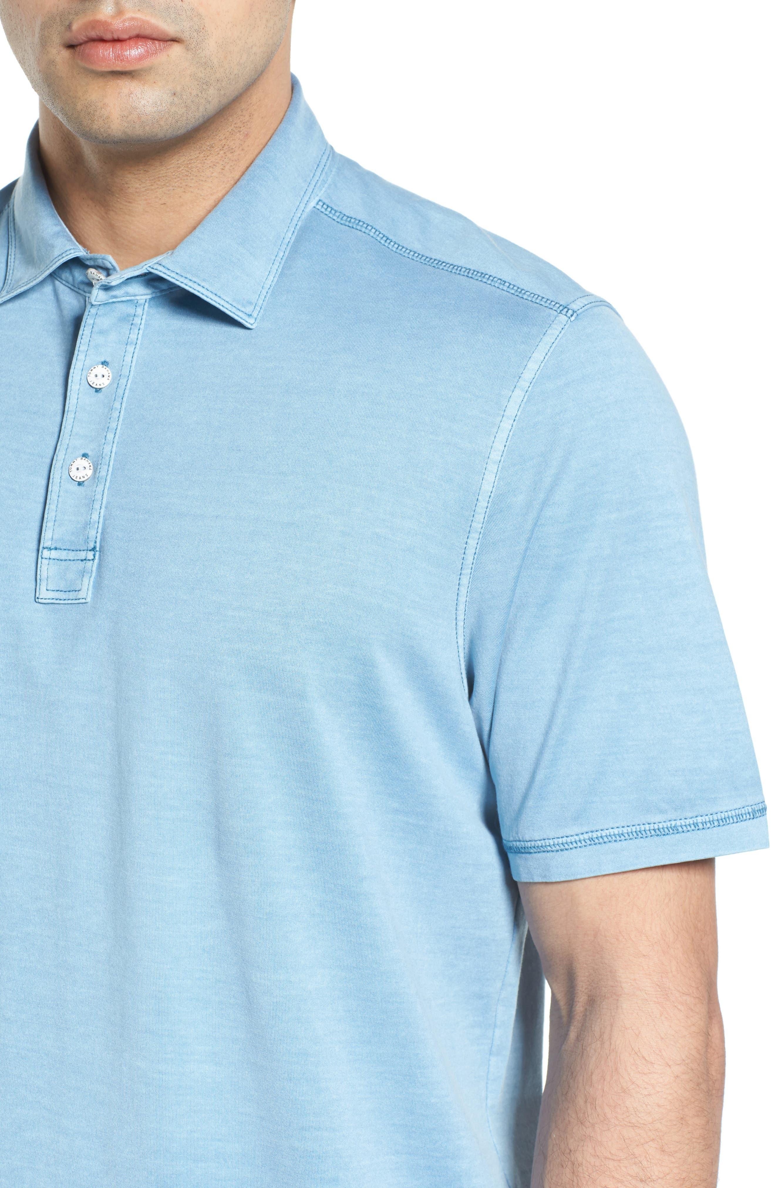Sorrento Cotton Blend Polo,                             Alternate thumbnail 22, color,