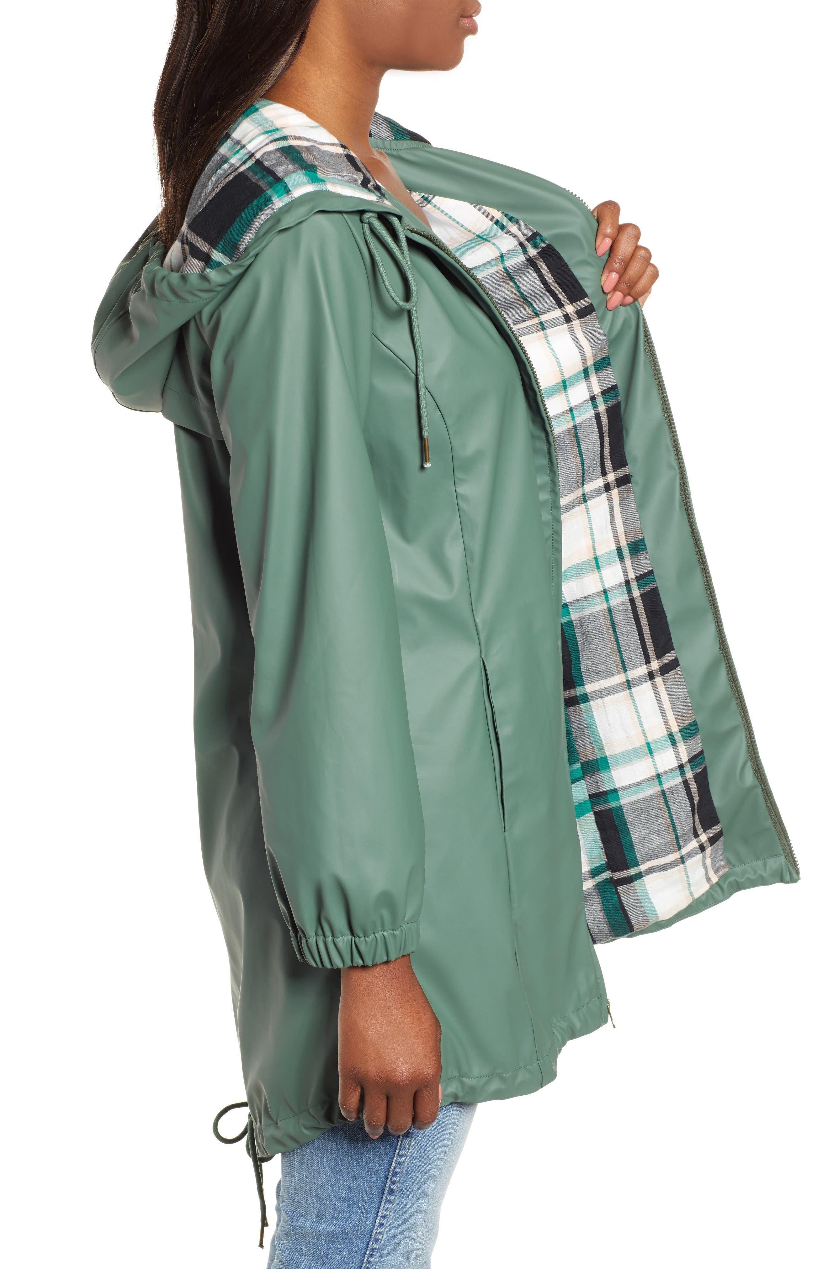 Hooded Rain Jacket,                             Alternate thumbnail 3, color,                             310