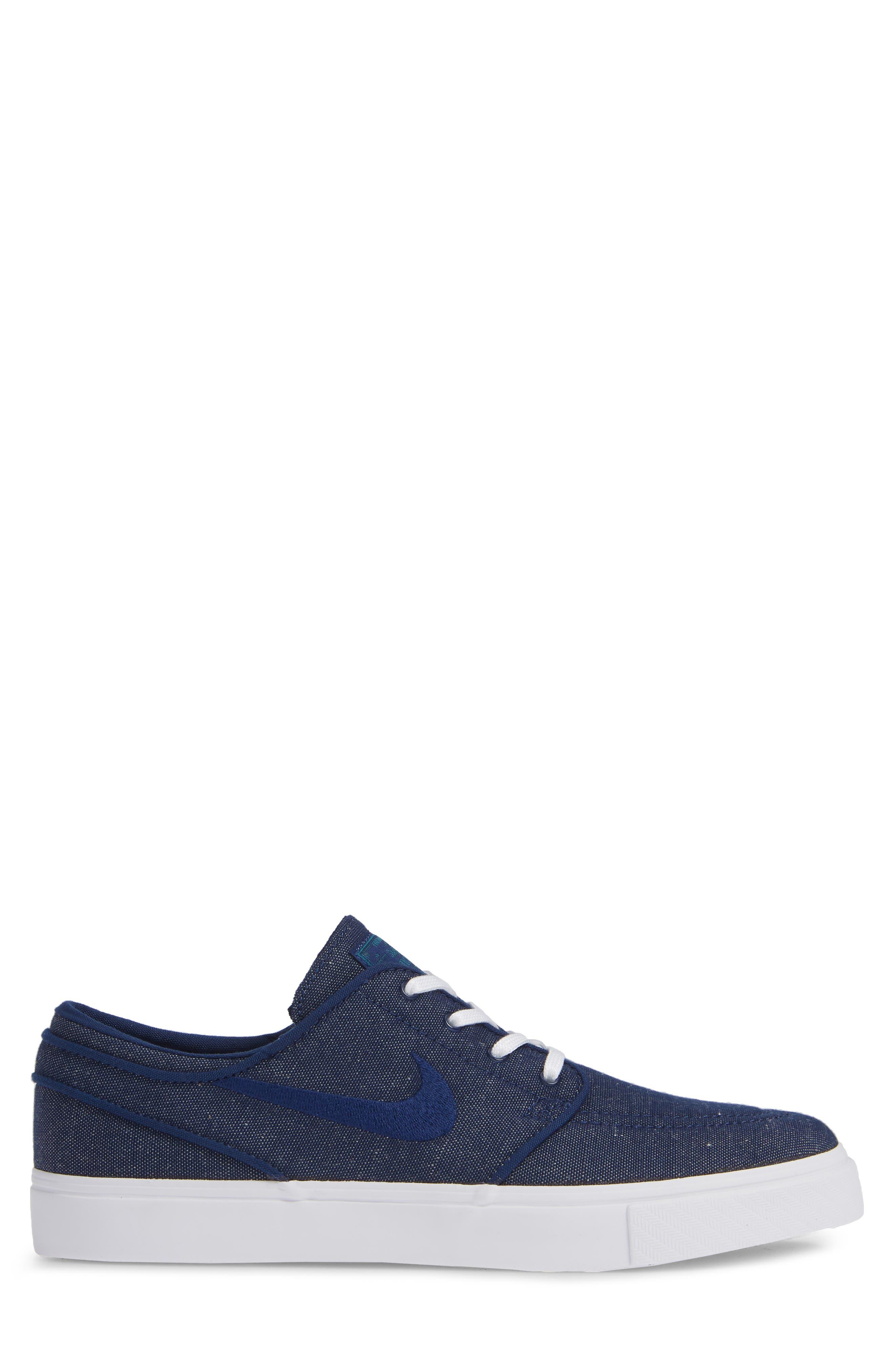 Zoom - Stefan Janoski SB Canvas Skate Shoe,                             Alternate thumbnail 131, color,