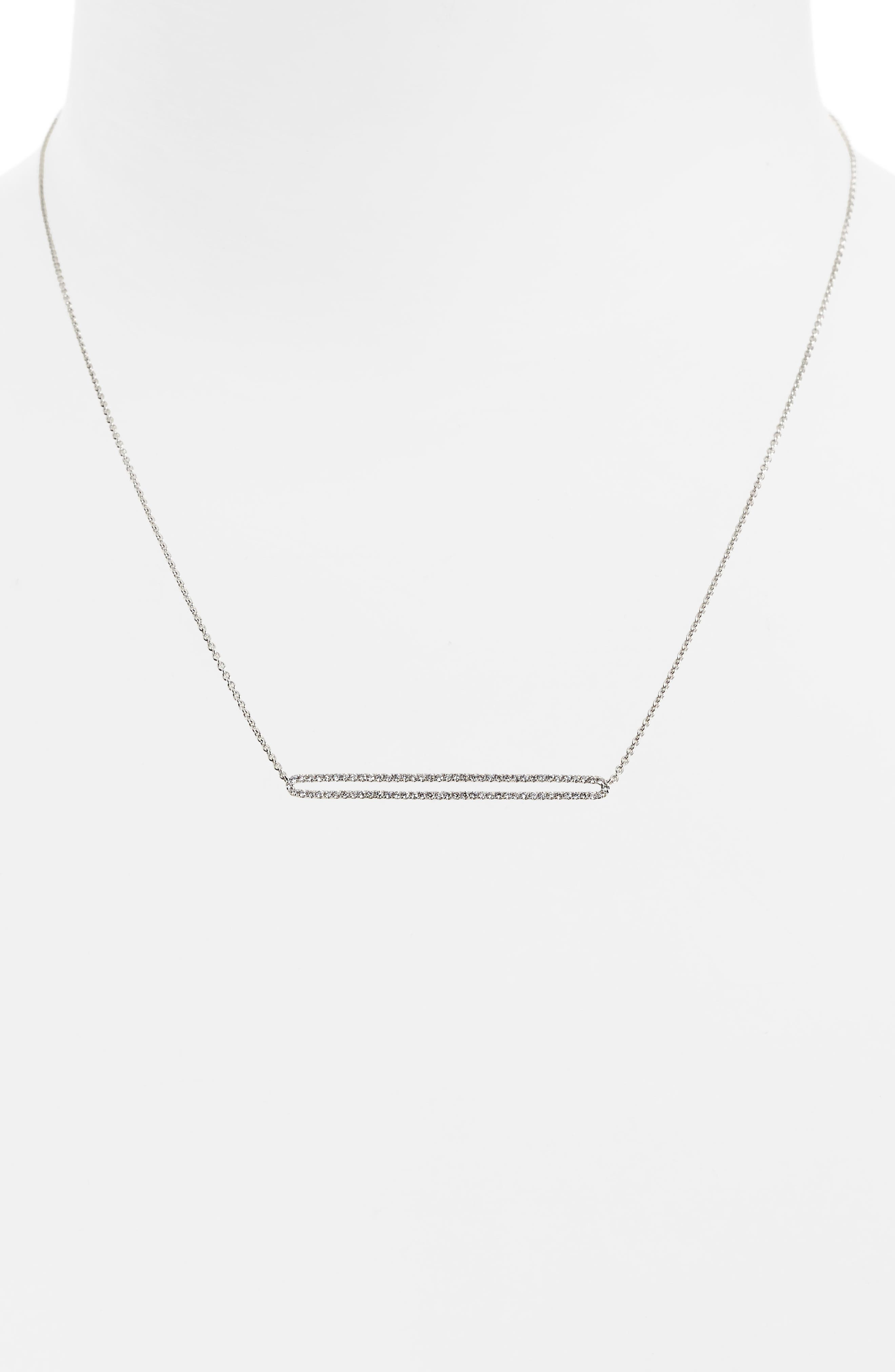 Geo Diamond Pendant Necklace,                             Alternate thumbnail 2, color,                             711