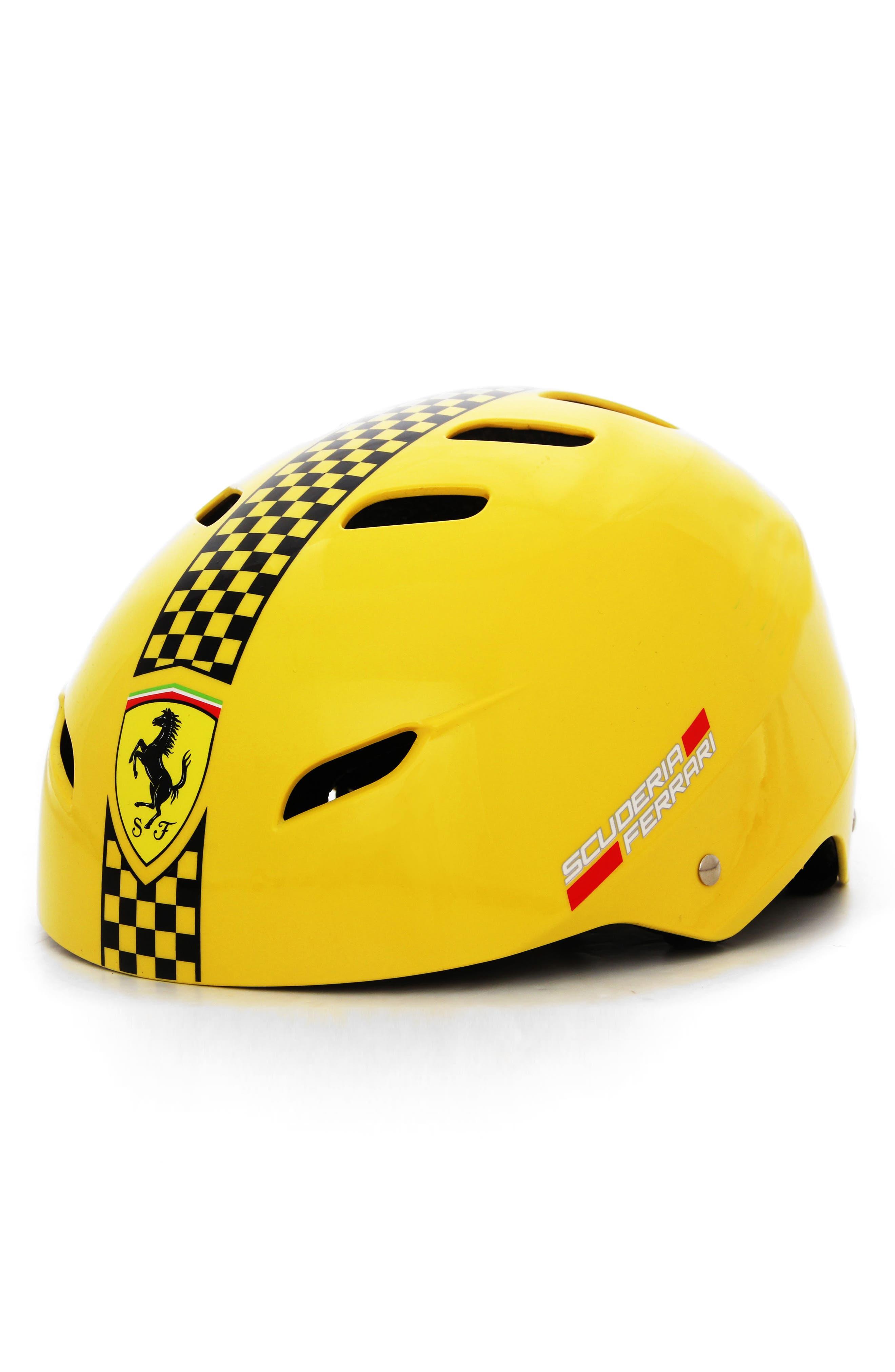 F1 Racing Helmet,                             Alternate thumbnail 2, color,                             YELLOW