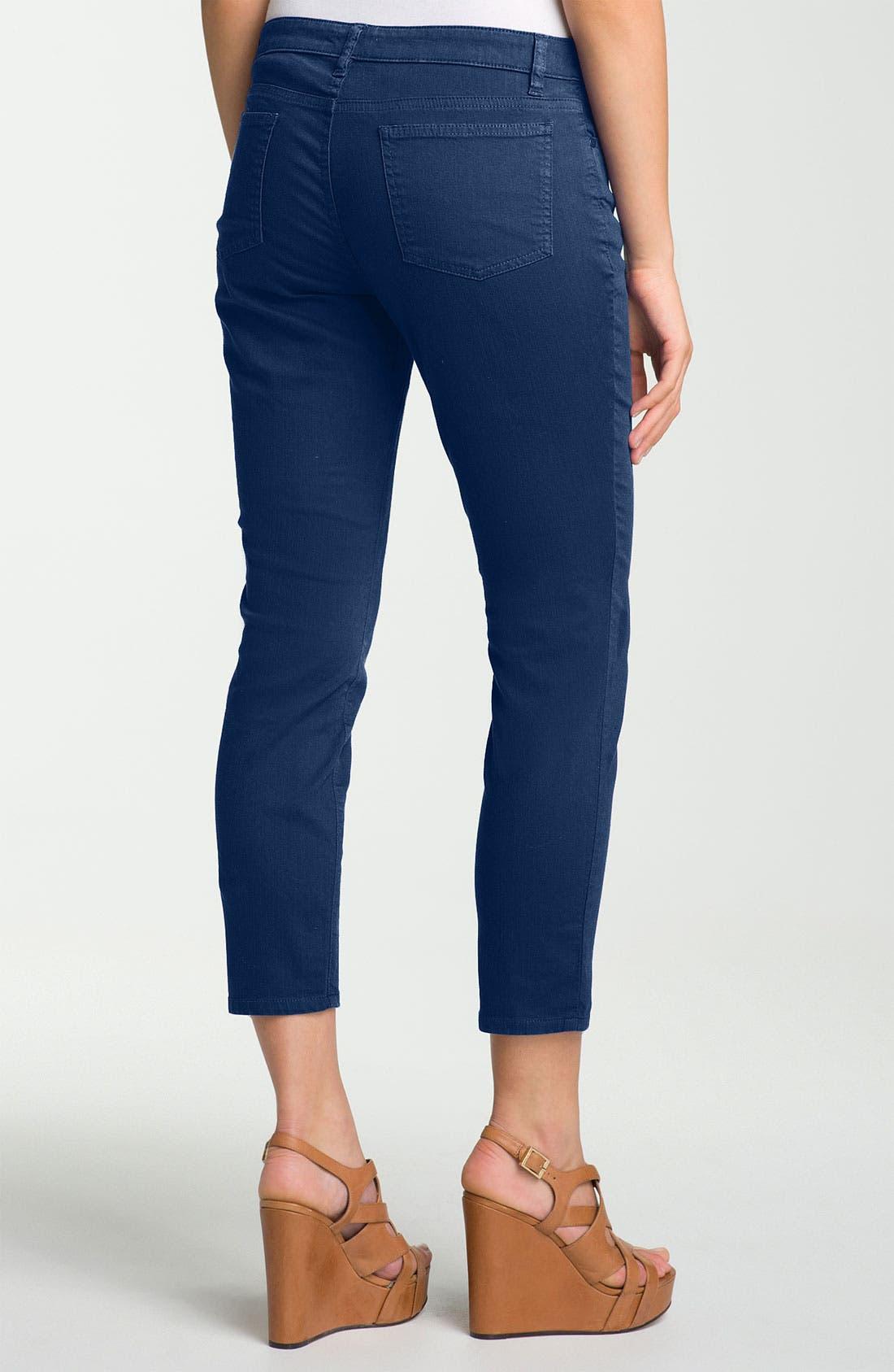 Skinny Ankle Jeans,                             Alternate thumbnail 23, color,