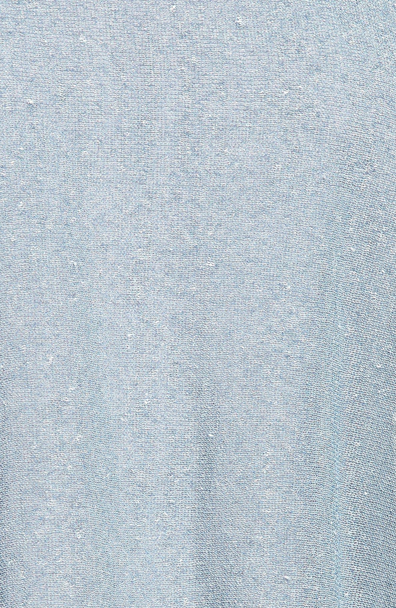 Organic Linen Blend Poncho,                             Alternate thumbnail 5, color,                             454