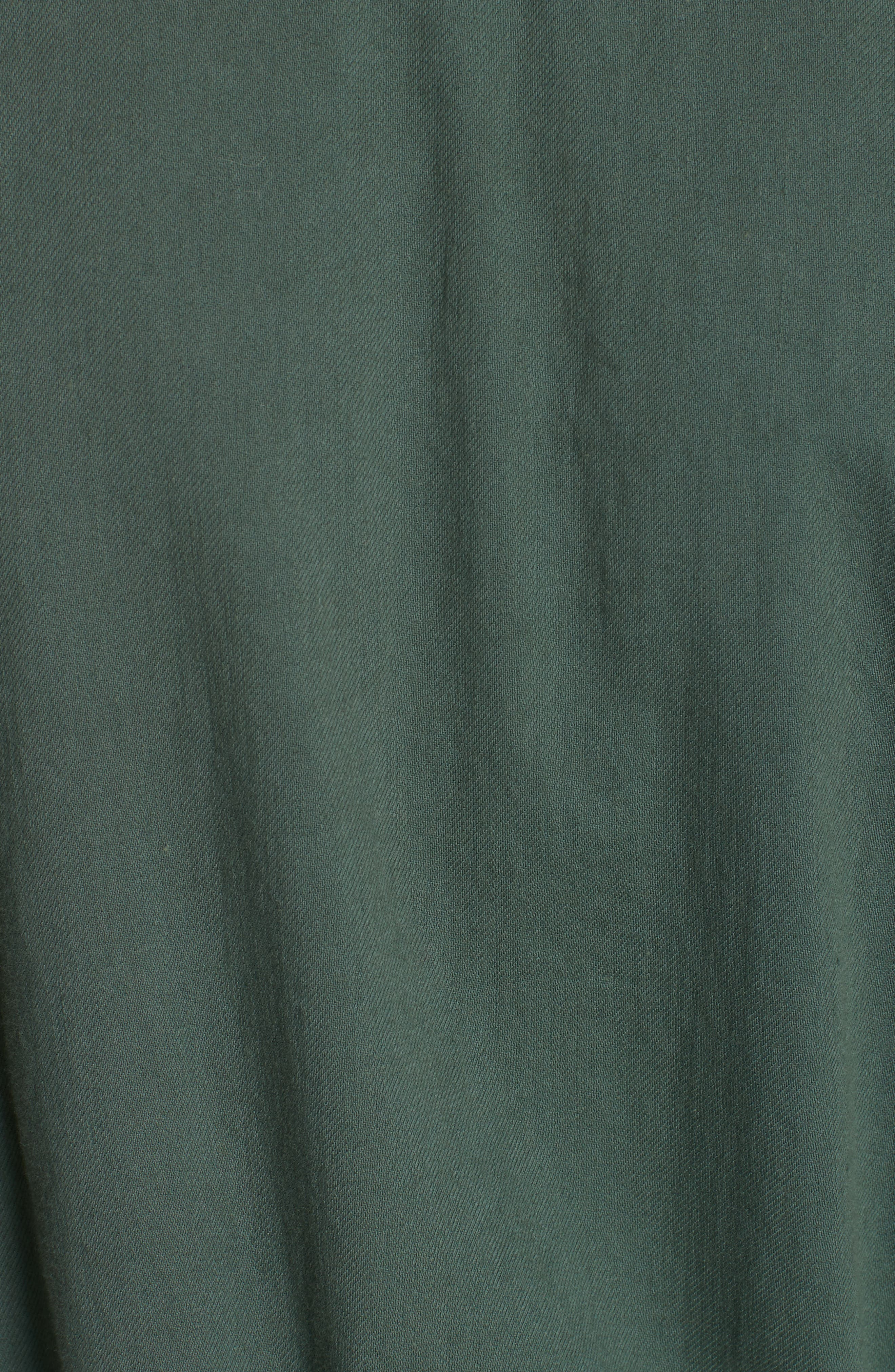 Shirttail Hem Organic Cotton Jacket,                             Alternate thumbnail 13, color,