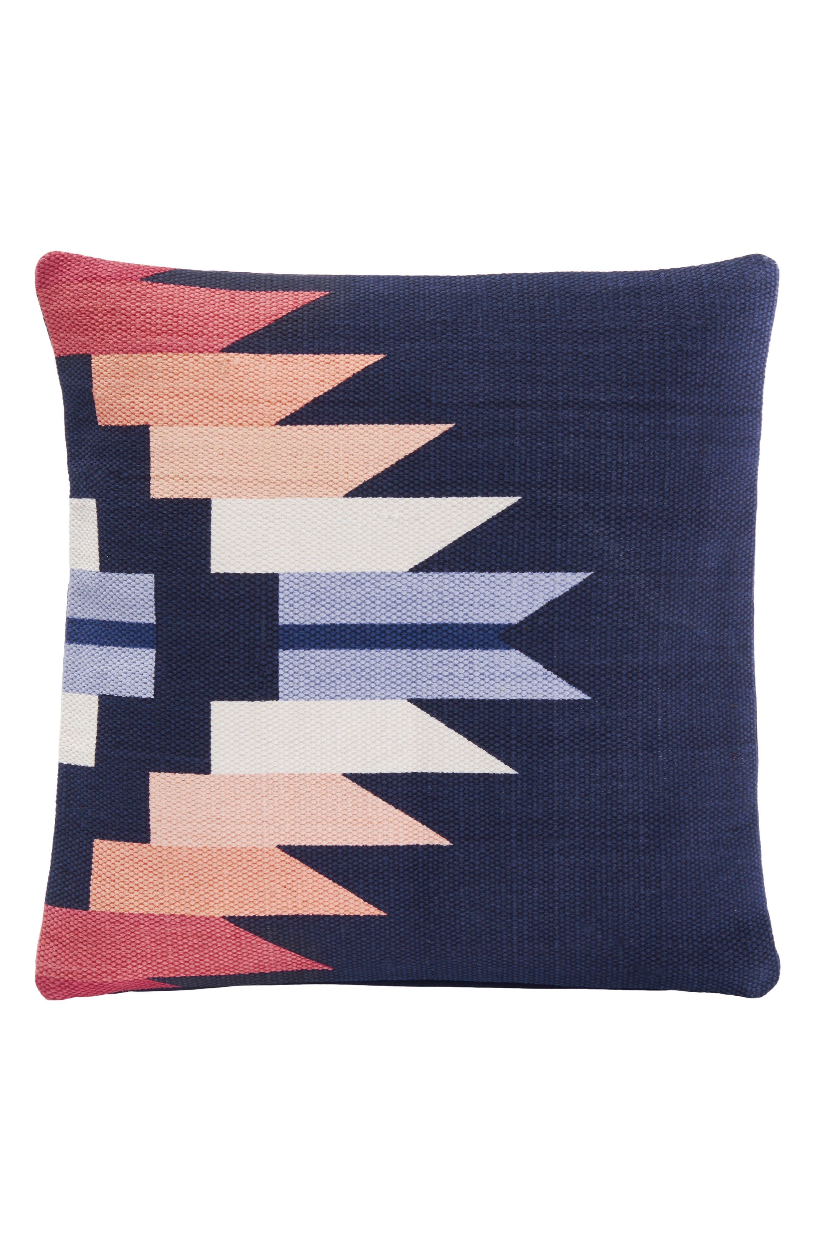 PENDLETON,                             Sequoia Sunset Accent Pillow,                             Main thumbnail 1, color,                             NAVY