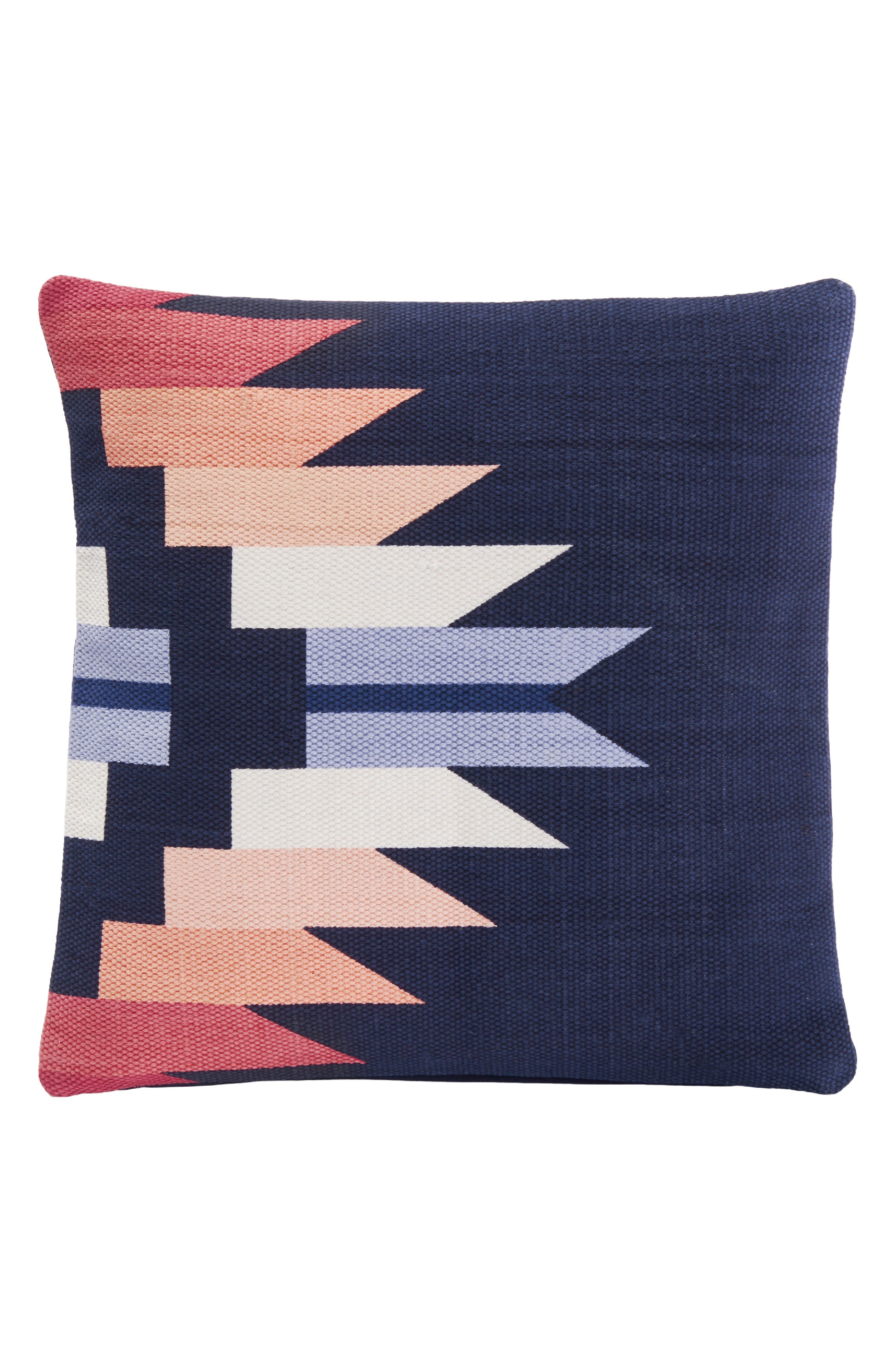 PENDLETON Sequoia Sunset Accent Pillow, Main, color, NAVY
