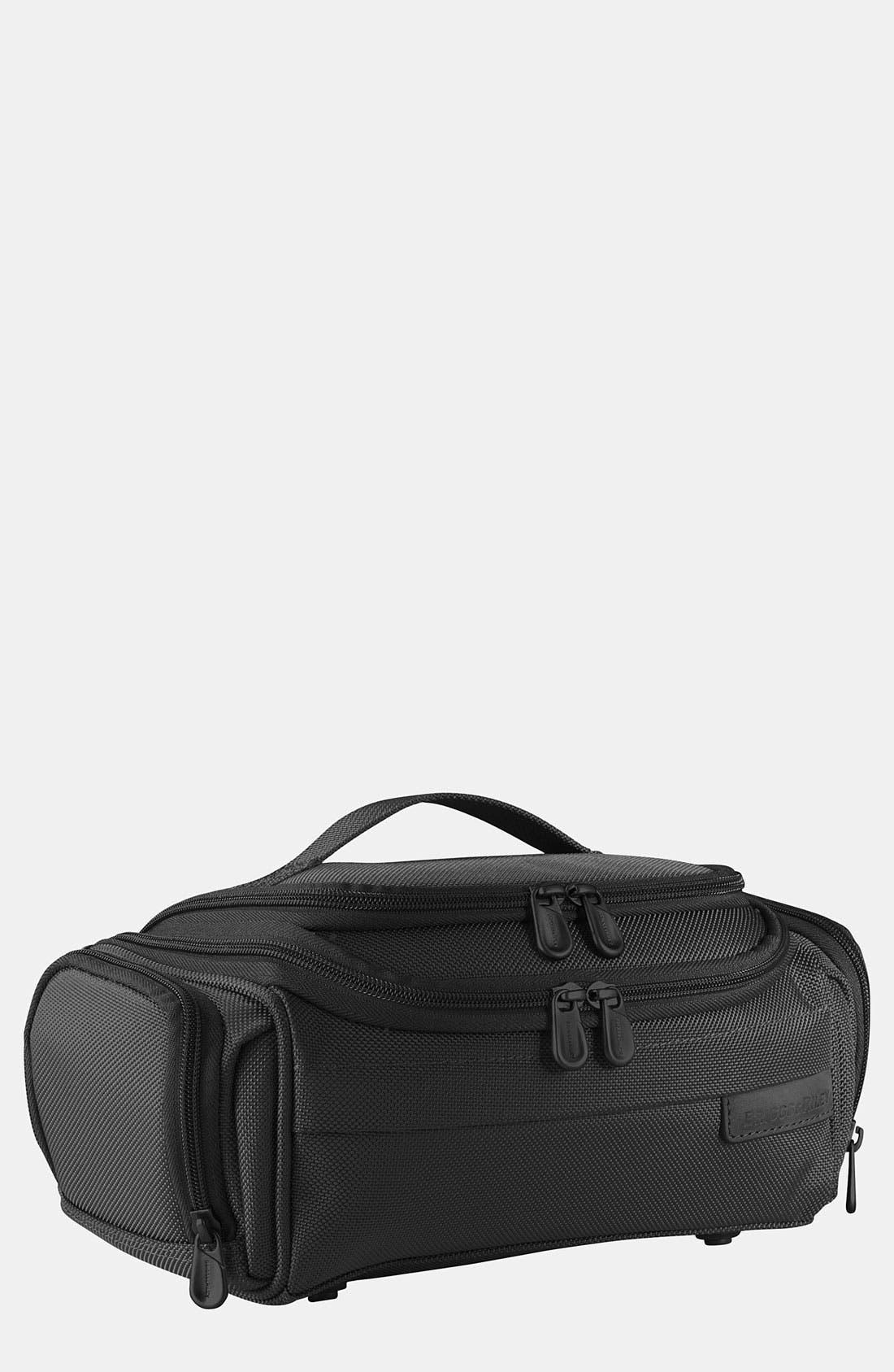 Baseline - Executive Toiletry Kit,                         Main,                         color, BLACK