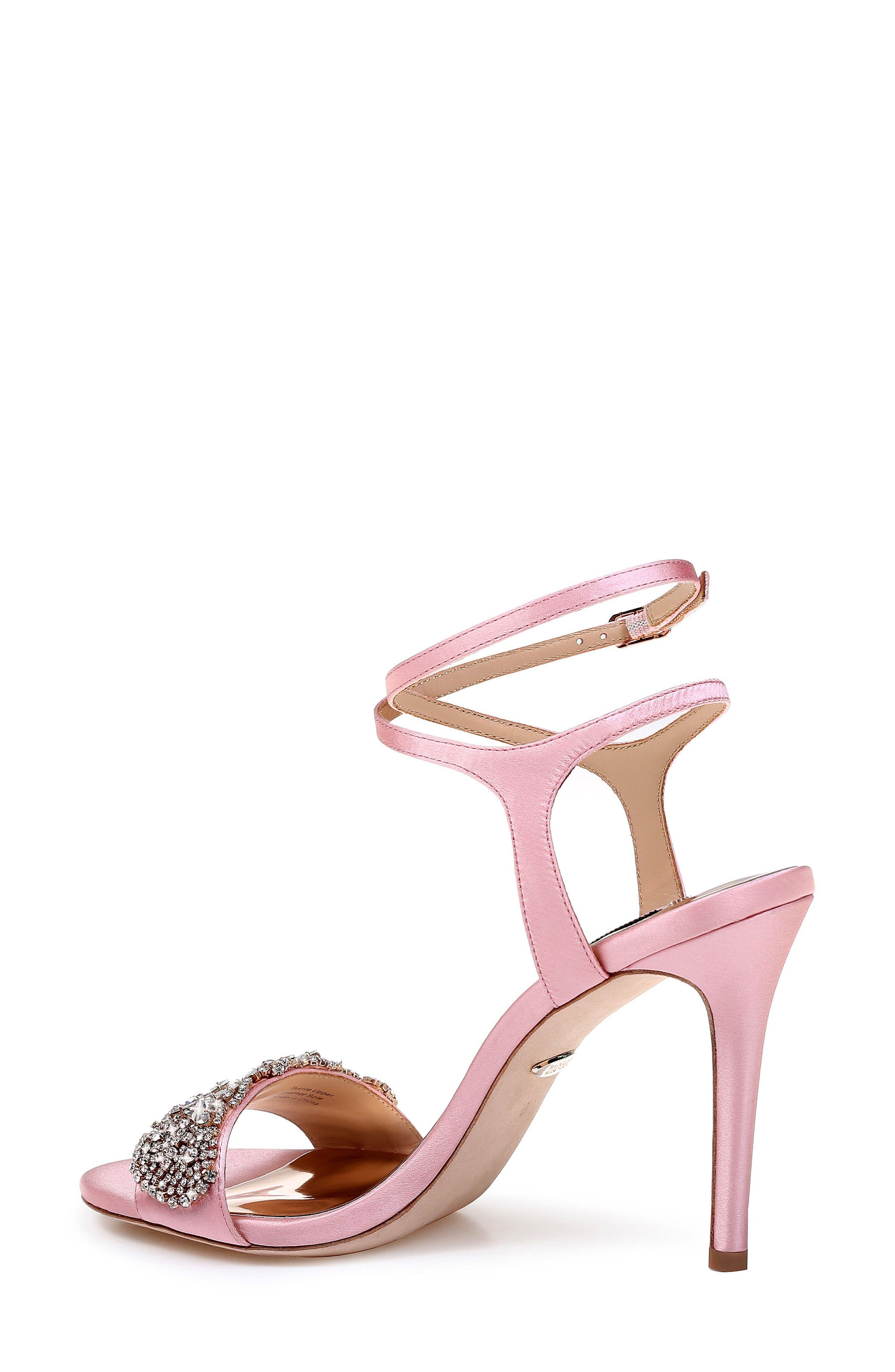 Hailey Embellished Ankle Strap Sandal,                             Alternate thumbnail 11, color,