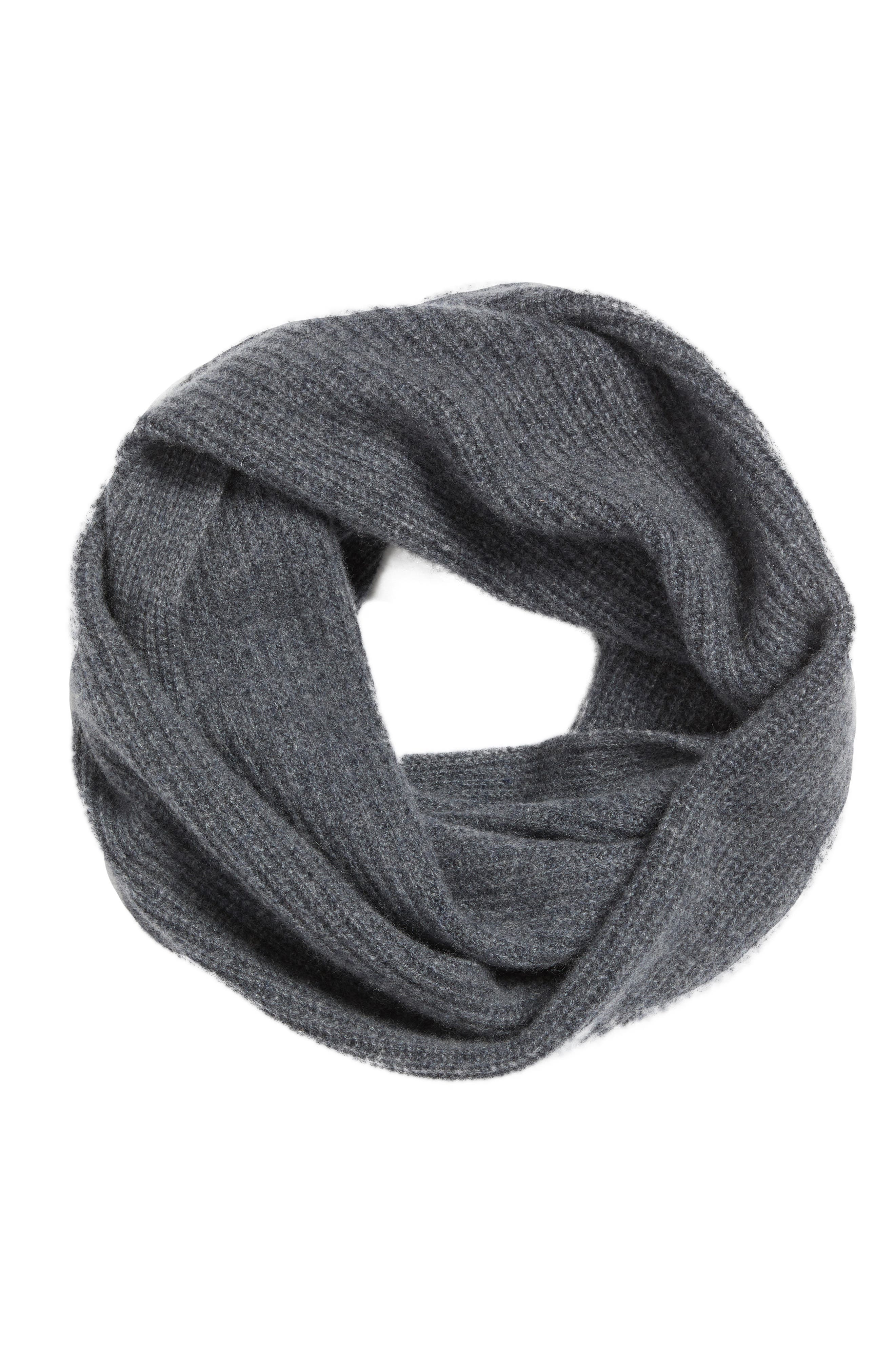 Cashmere Infinity Scarf,                             Alternate thumbnail 9, color,