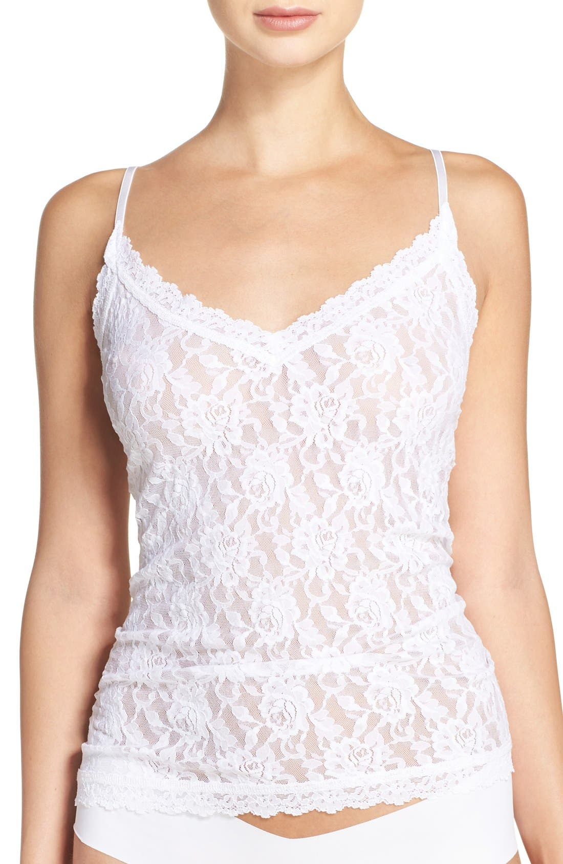 Hanky Panky Lace Camisole, White