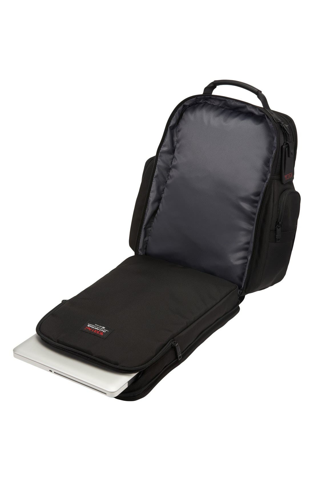 Alpha 2 T-Pass Laptop Brief Pack with Tumi ID Lock Pocket,                             Alternate thumbnail 4, color,                             007