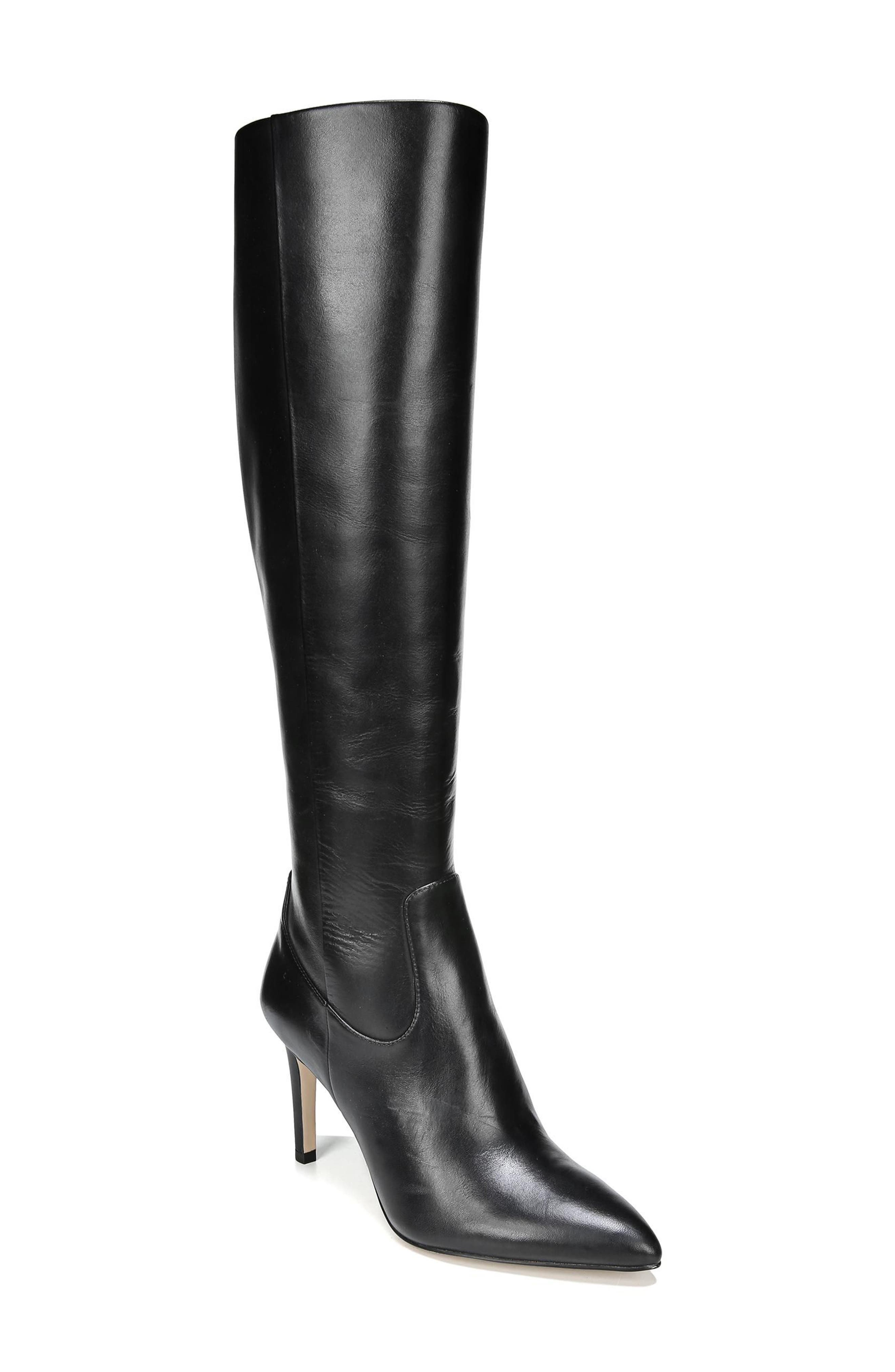 Olencia Knee High Boot,                             Main thumbnail 1, color,                             001