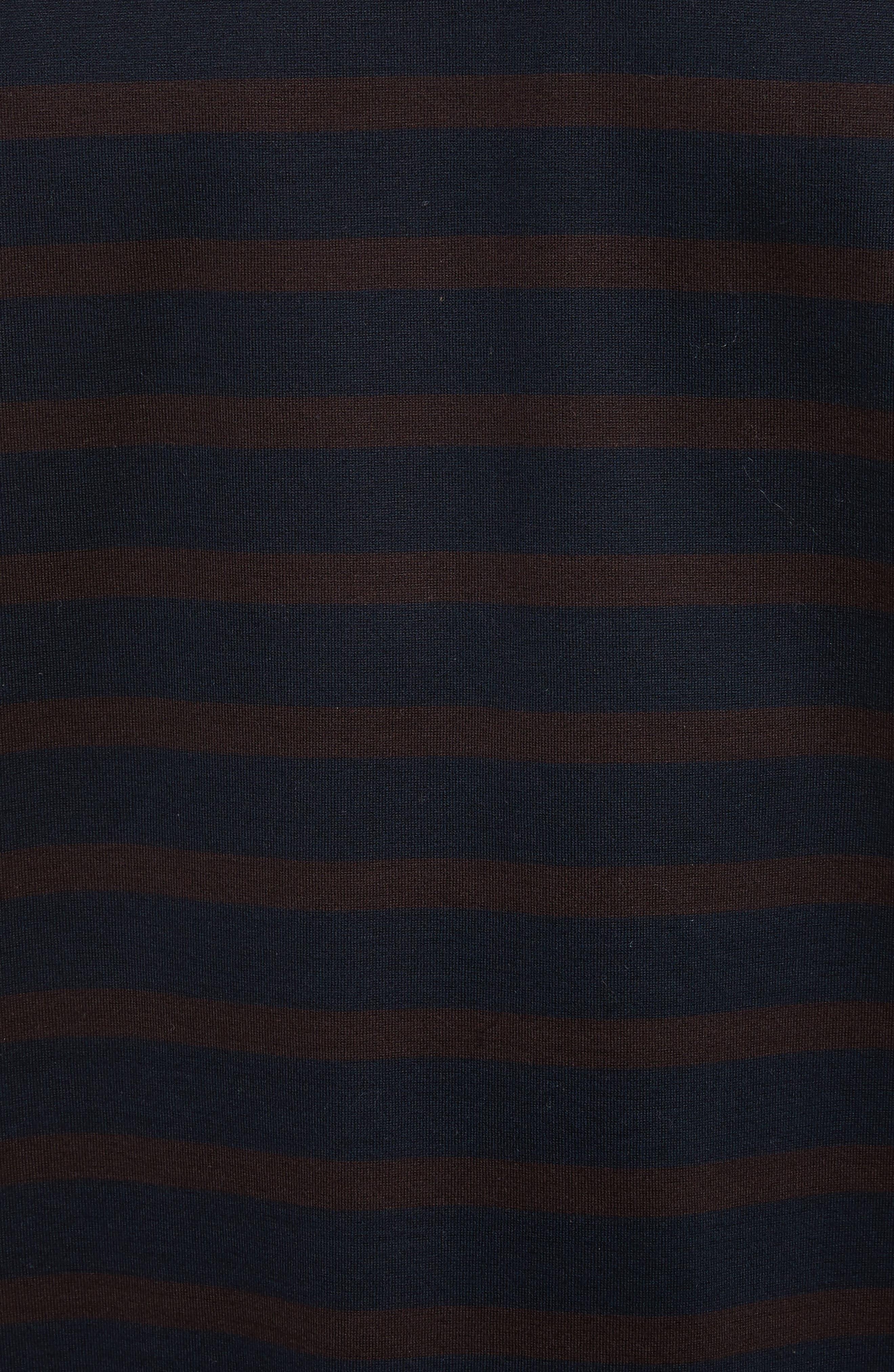Henry Stripe T-Shirt,                             Alternate thumbnail 5, color,                             420