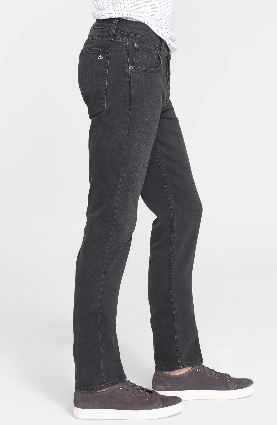'Fit 2' Slim Fit Jeans,                             Alternate thumbnail 2, color,                             009