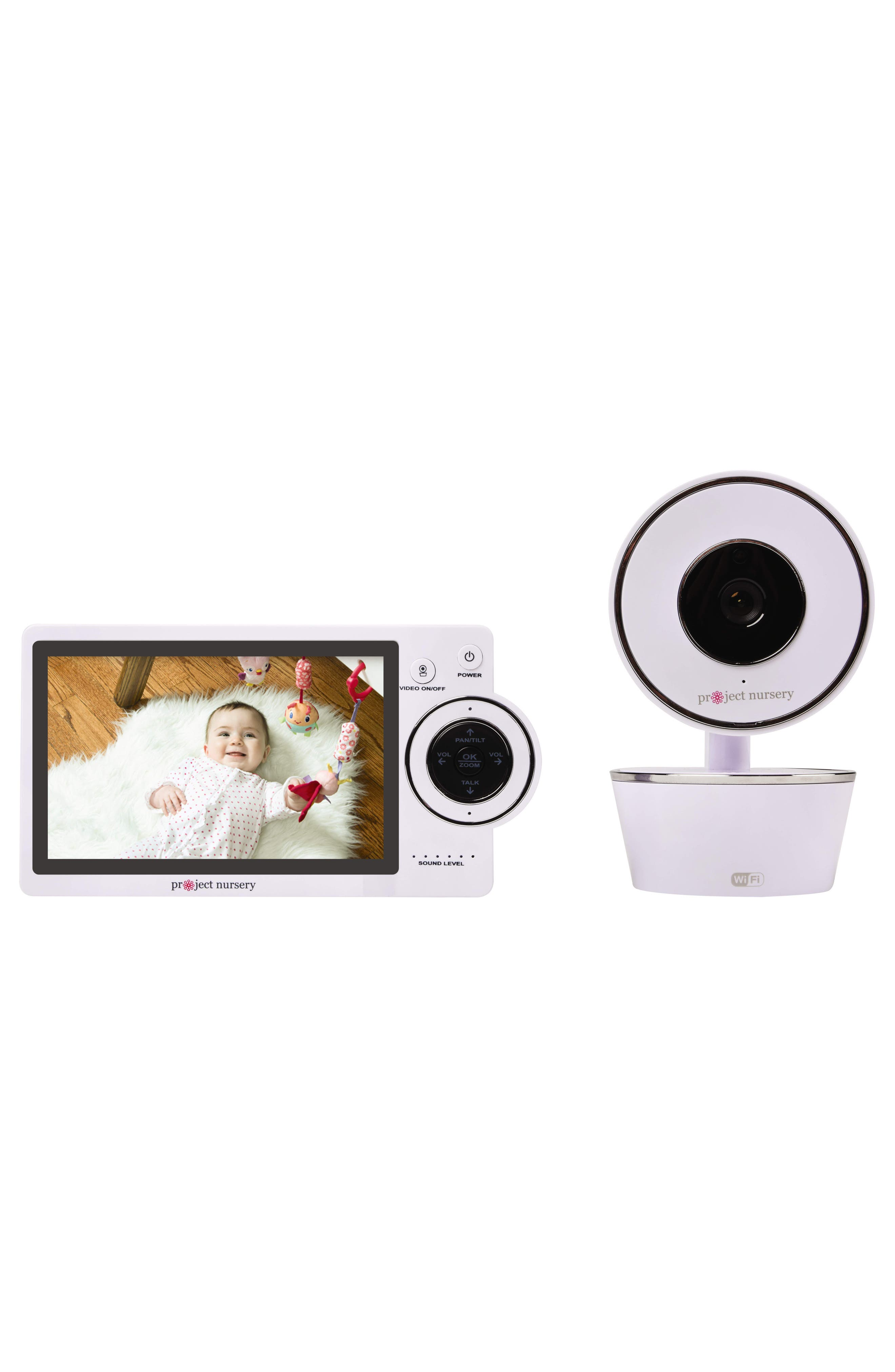 Dual Connect Baby Monitor System,                             Alternate thumbnail 4, color,                             WHITE