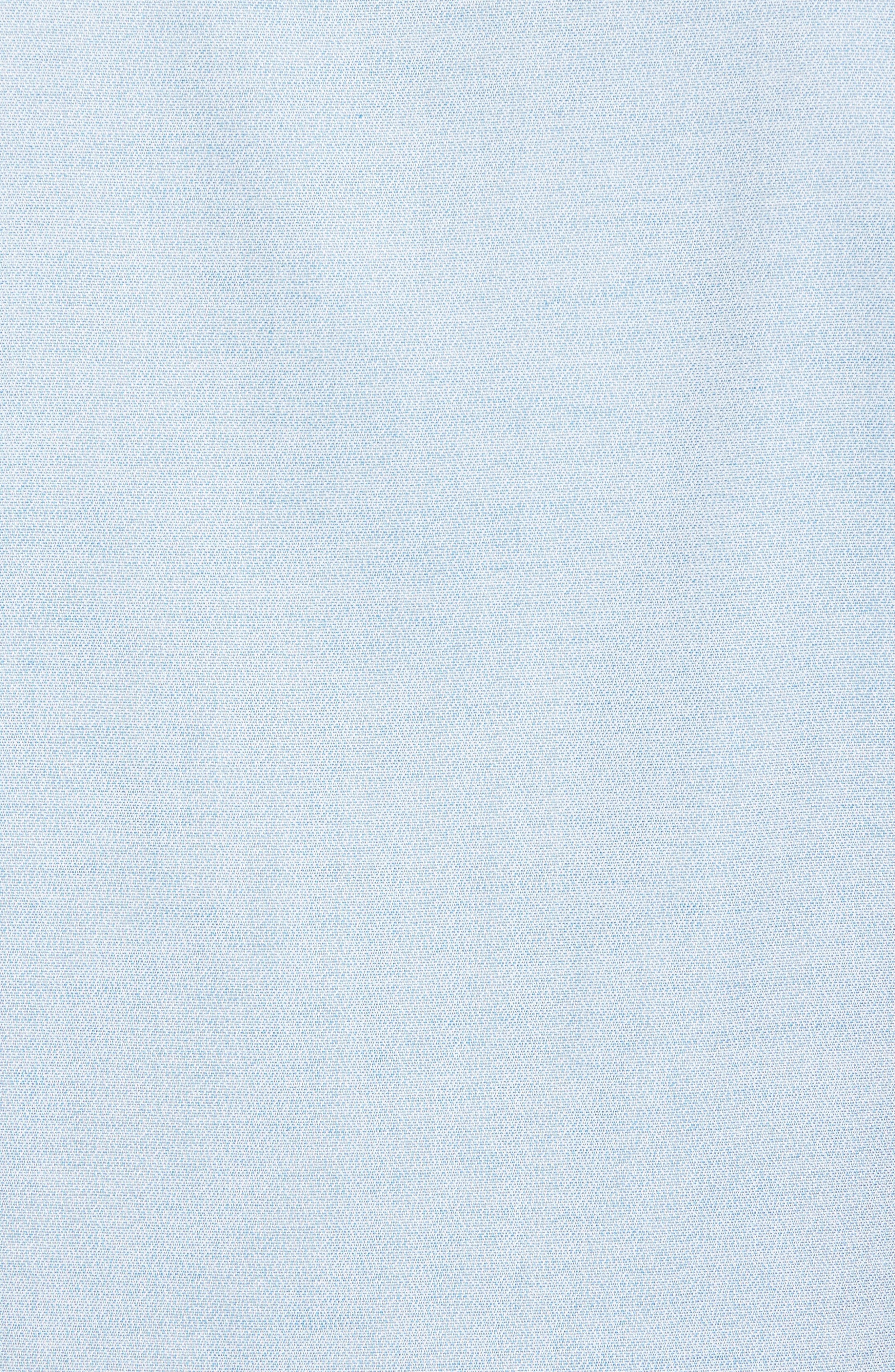 Trim Fit Jaspé Short Sleeve Sport Shirt,                             Alternate thumbnail 14, color,