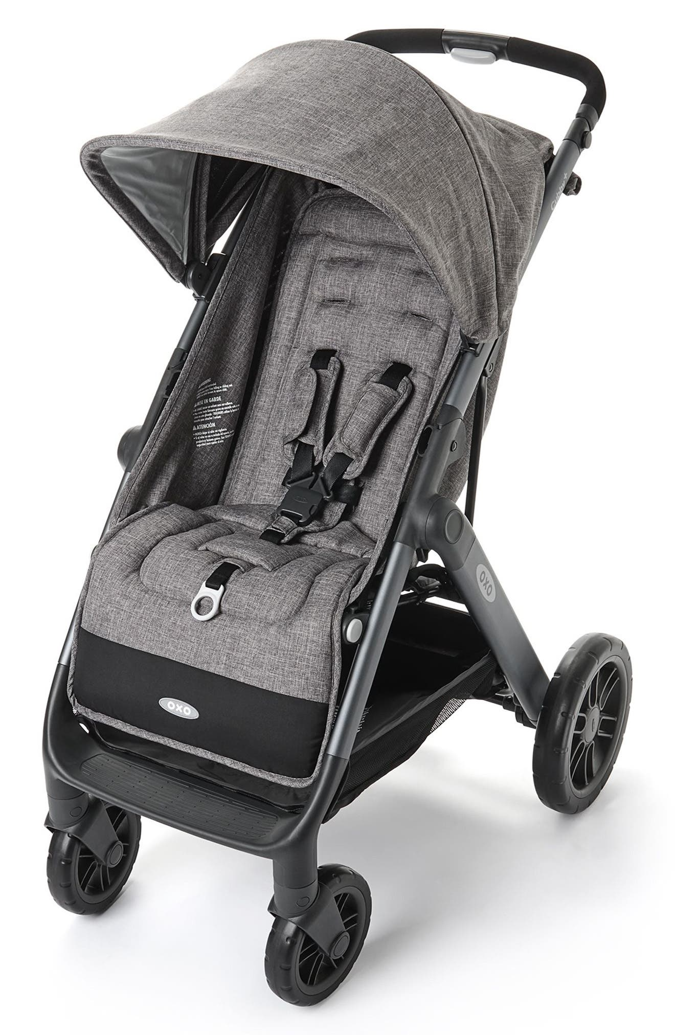 Cubby+ Stroller,                         Main,                         color, HEATHER GRAY