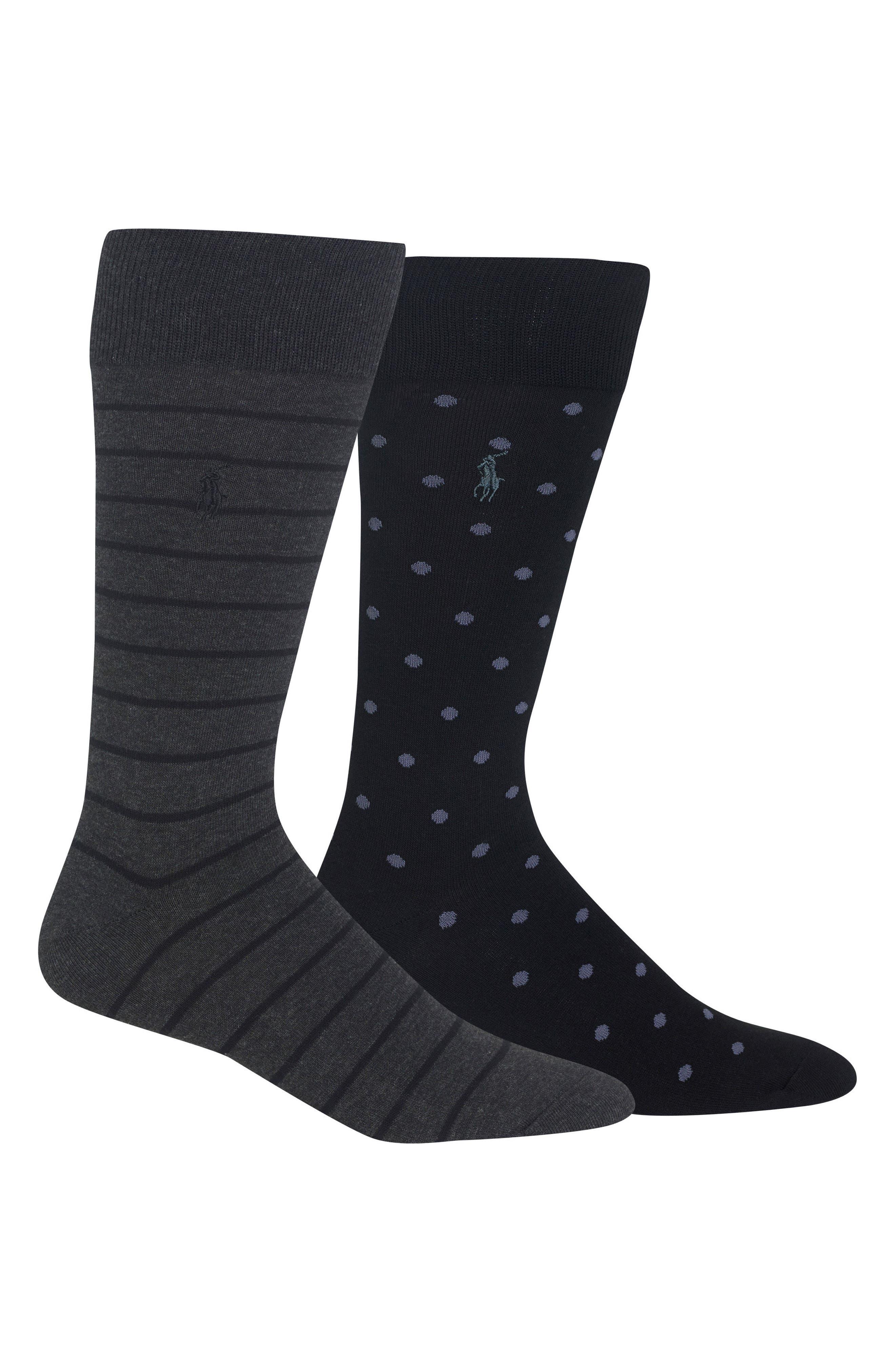 2-Pack Socks,                             Main thumbnail 1, color,                             011