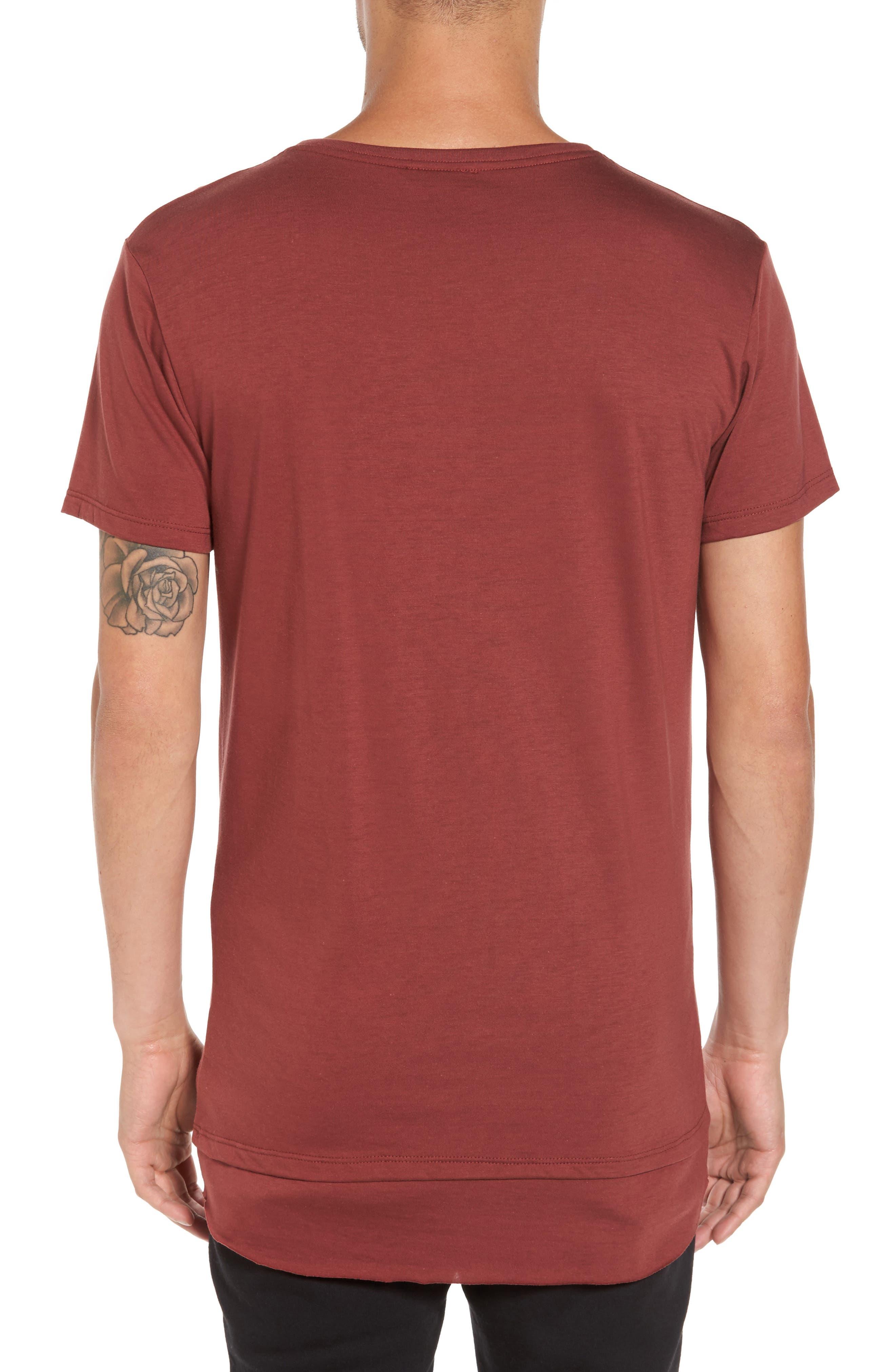 Double Layer T-Shirt,                             Alternate thumbnail 6, color,