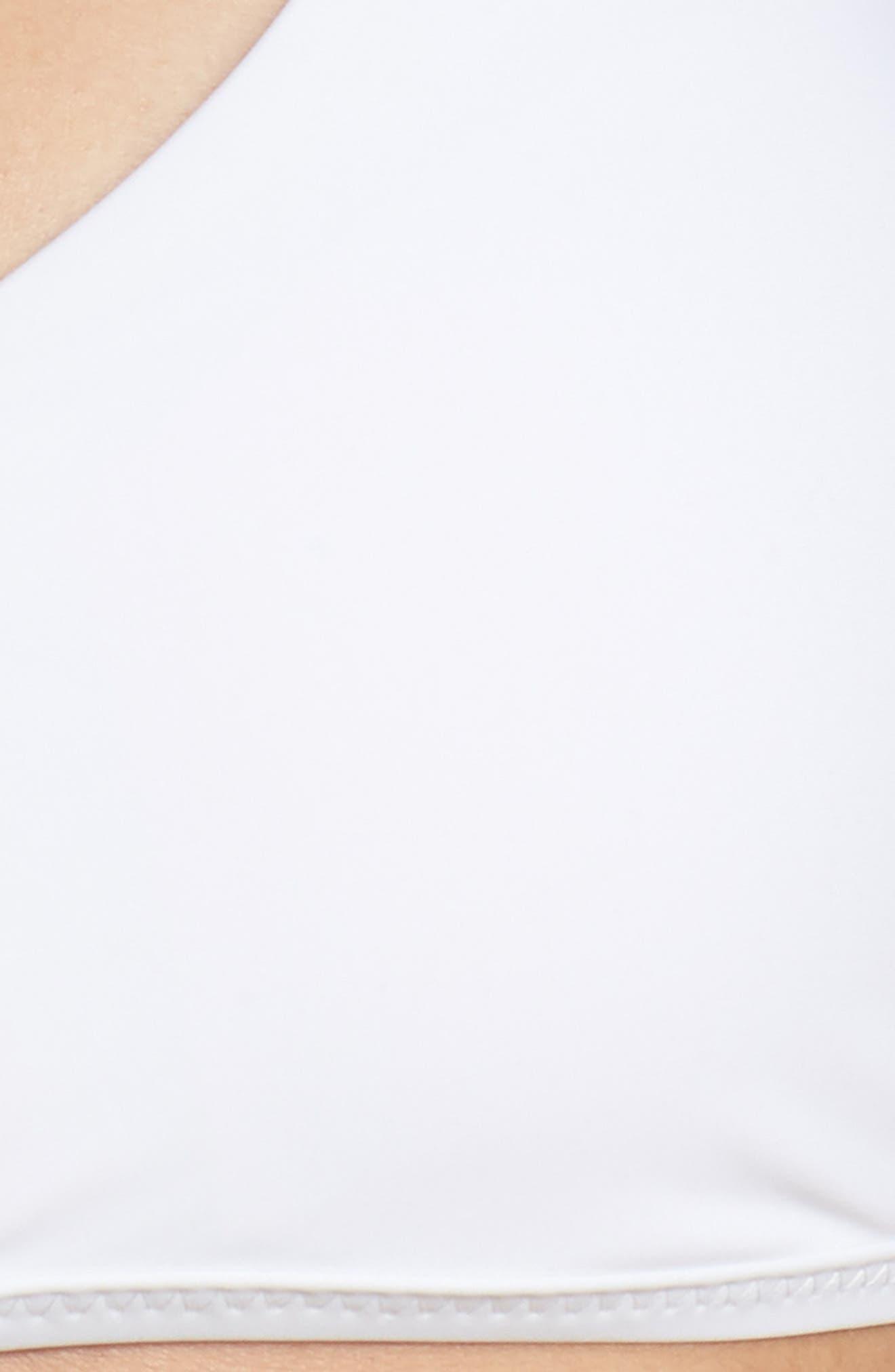 Strappy Bikini Top,                             Alternate thumbnail 5, color,                             WHITE