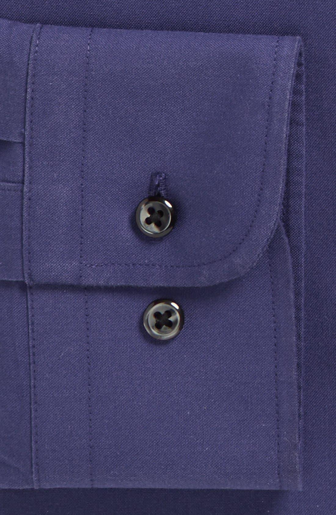 Smartcare<sup>™</sup> Trim Fit Solid Dress Shirt,                             Alternate thumbnail 29, color,