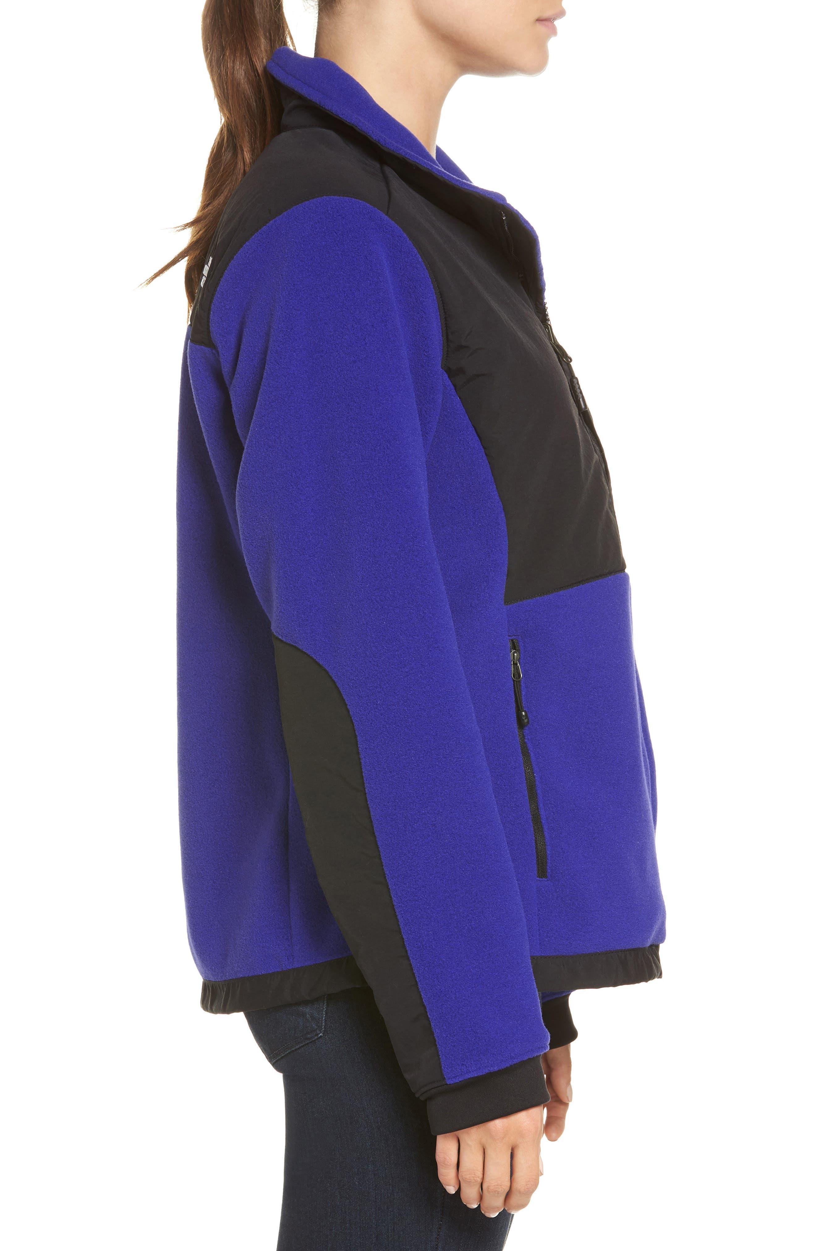 Denali 2 Jacket,                             Alternate thumbnail 3, color,                             LAPIS BLUE/ TNF BLACK