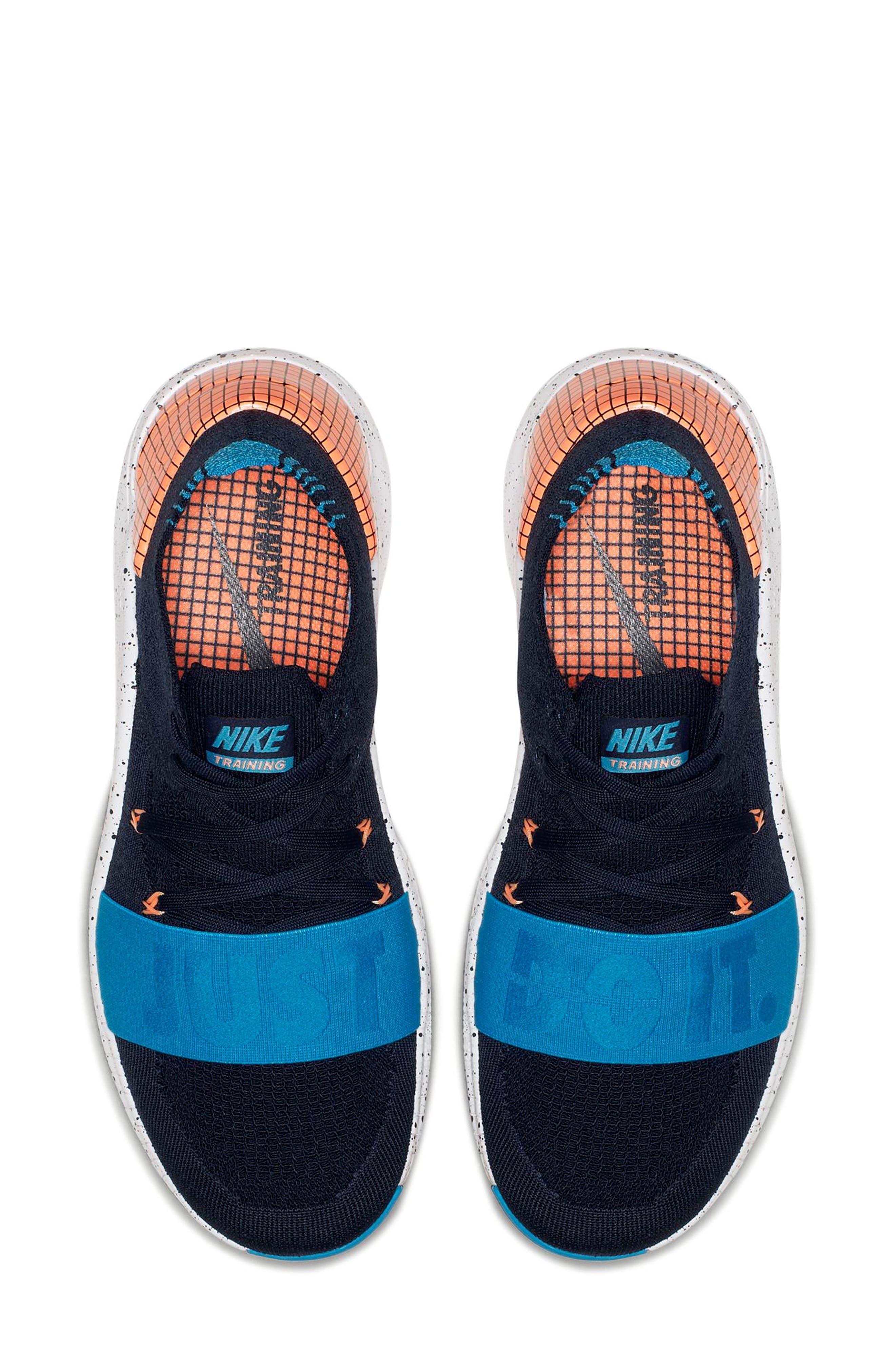 Free TR Flyknit 3 NEO Training Shoe,                             Alternate thumbnail 4, color,                             408