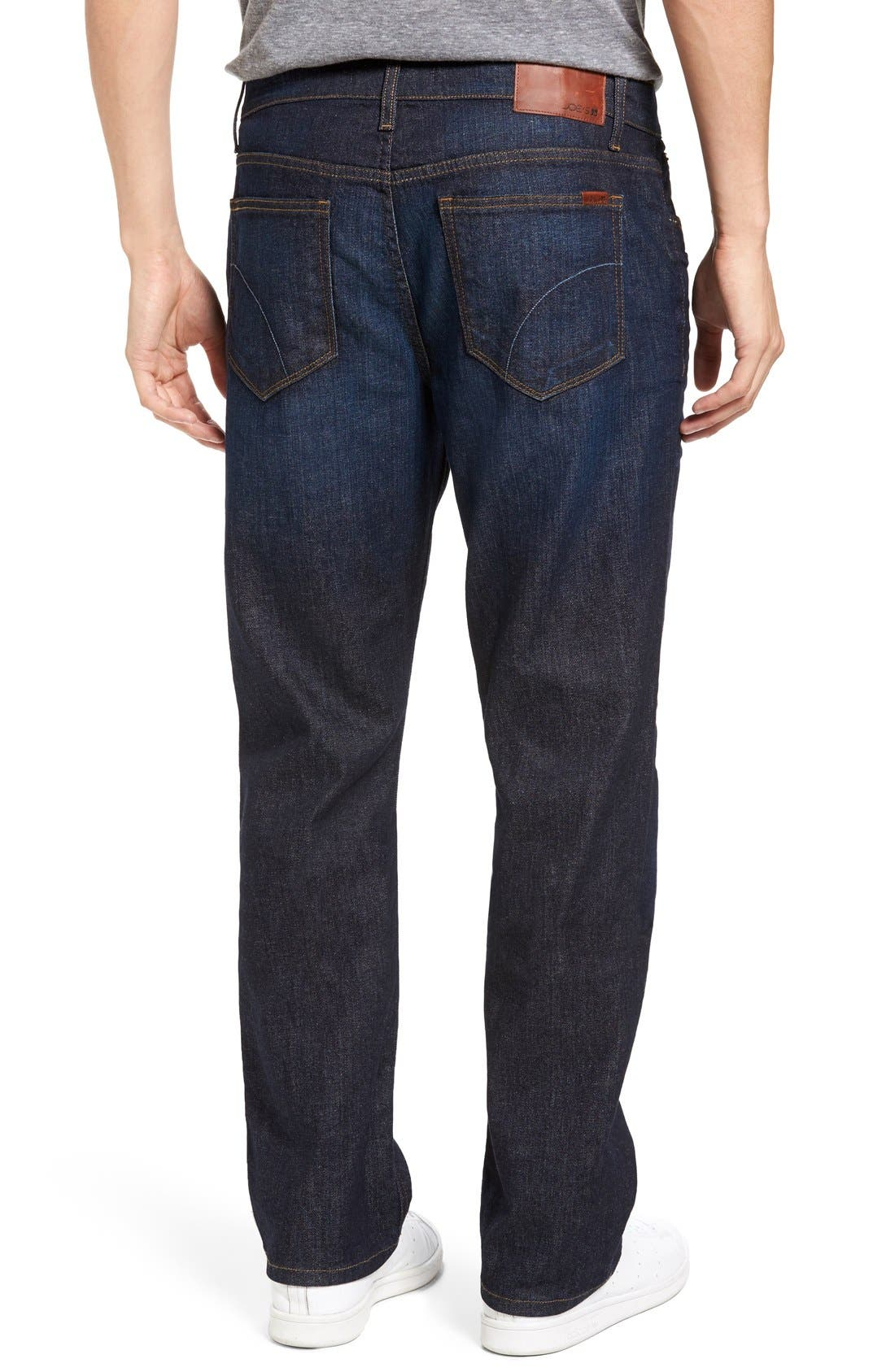 Classic Straight Fit Jeans,                             Alternate thumbnail 7, color,                             TIMOTHY