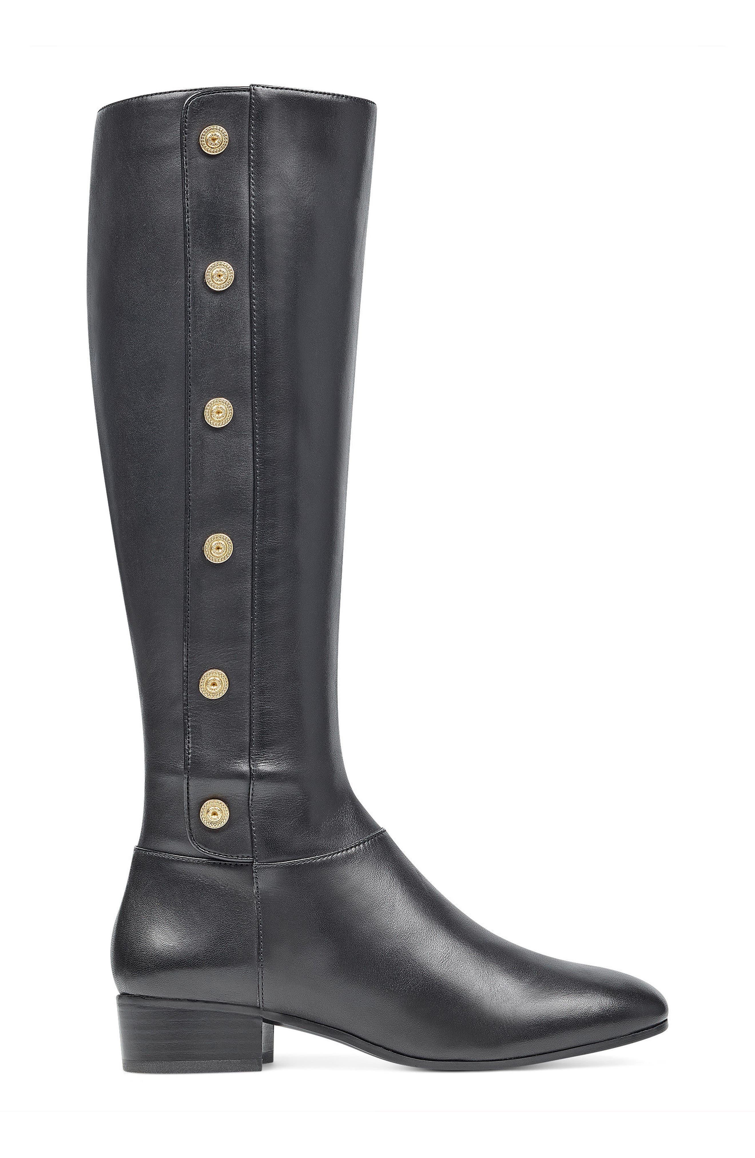 Oreyan Knee High Boot,                             Alternate thumbnail 3, color,                             001