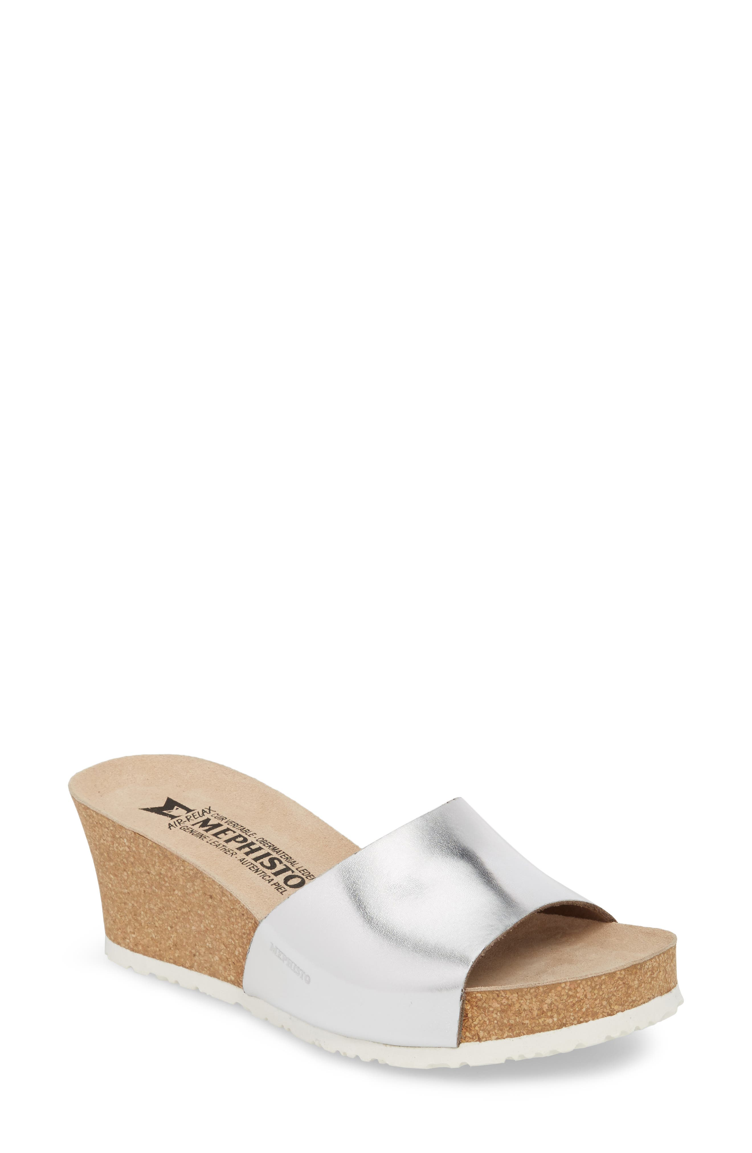 Lise Platform Wedge Sandal,                             Main thumbnail 2, color,