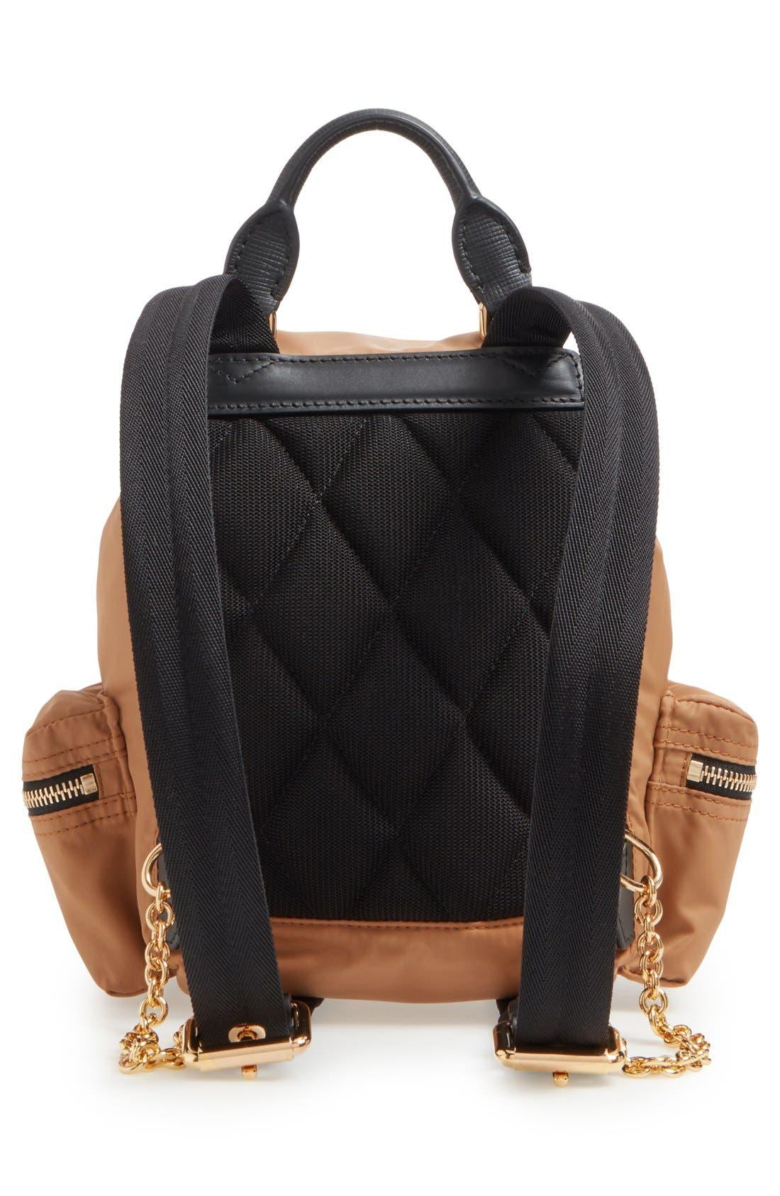 'Small Runway Rucksack' Nylon Backpack,                             Alternate thumbnail 3, color,                             272