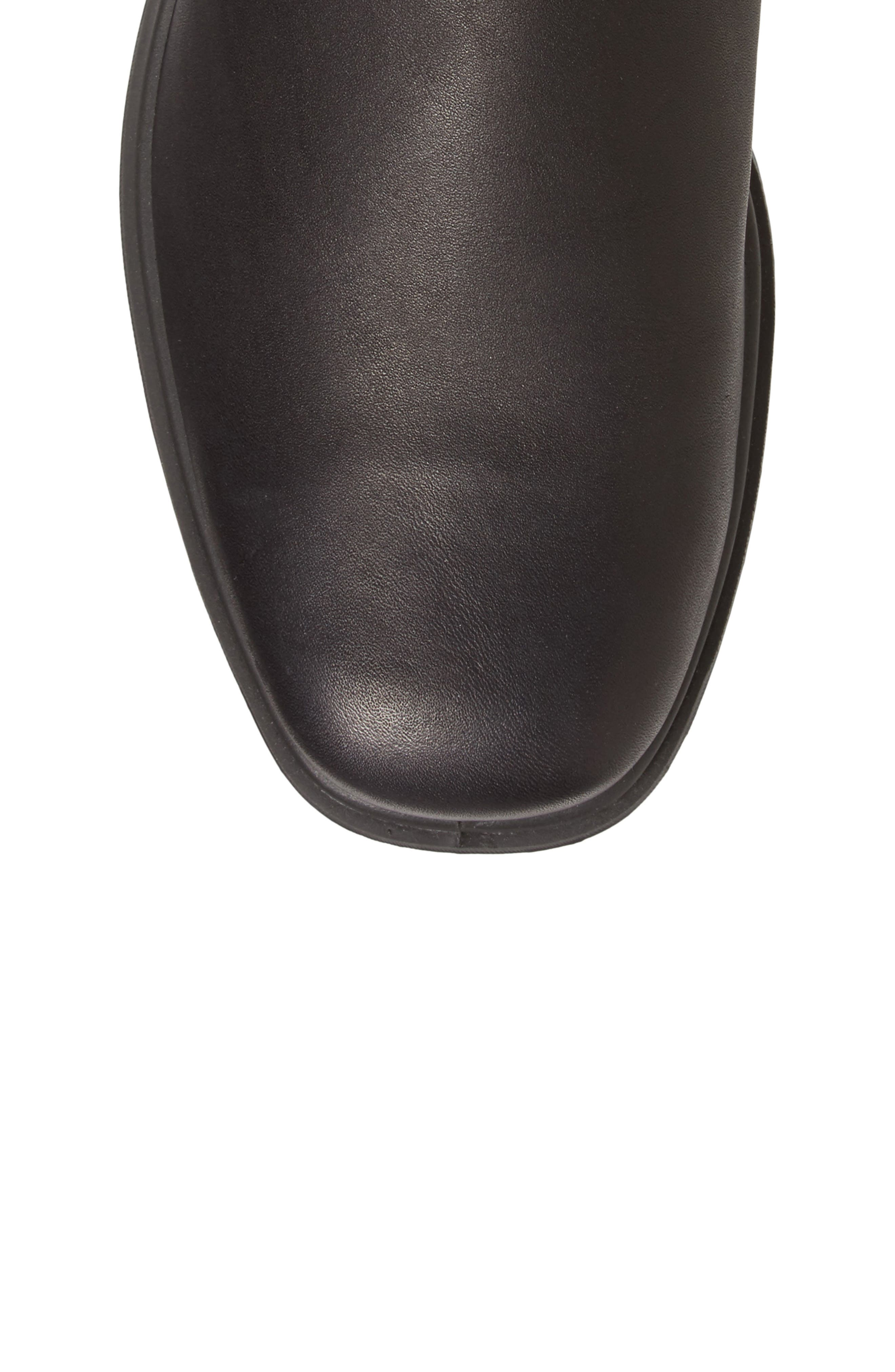 BLUNDSTONE FOOTWEAR,                             Chelsea Boot,                             Alternate thumbnail 5, color,                             BLACK LEATHER