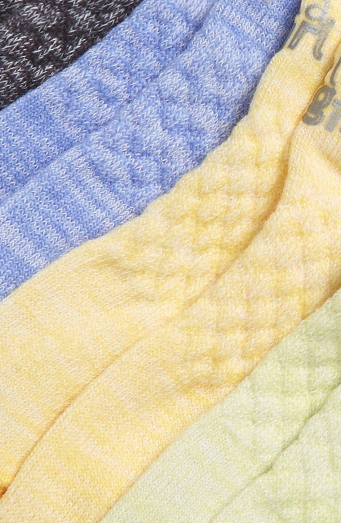 6-Pack Ankle Socks,                             Alternate thumbnail 25, color,