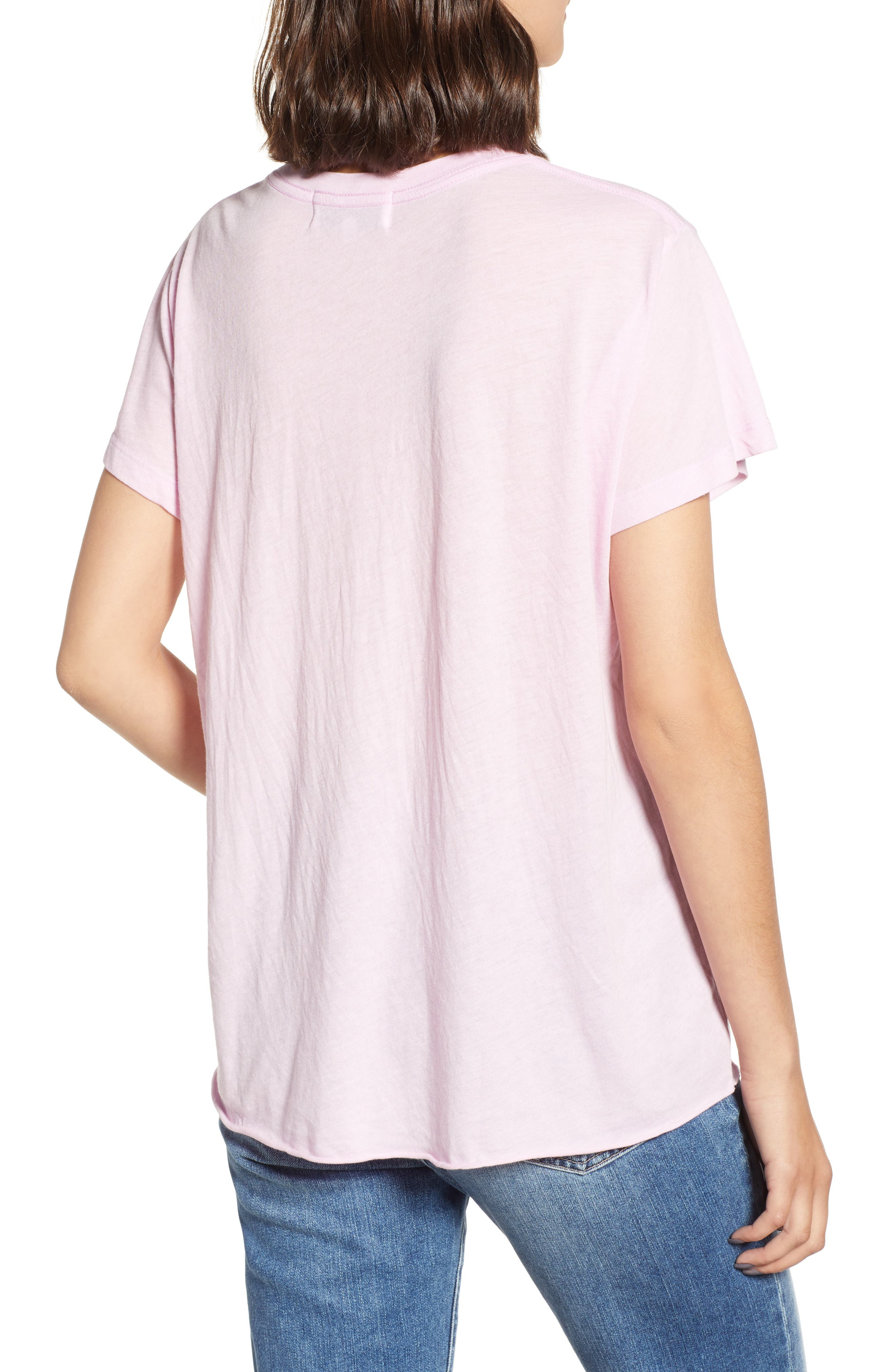 Romeo V-Neck Tee,                             Alternate thumbnail 2, color,                             ORCHID