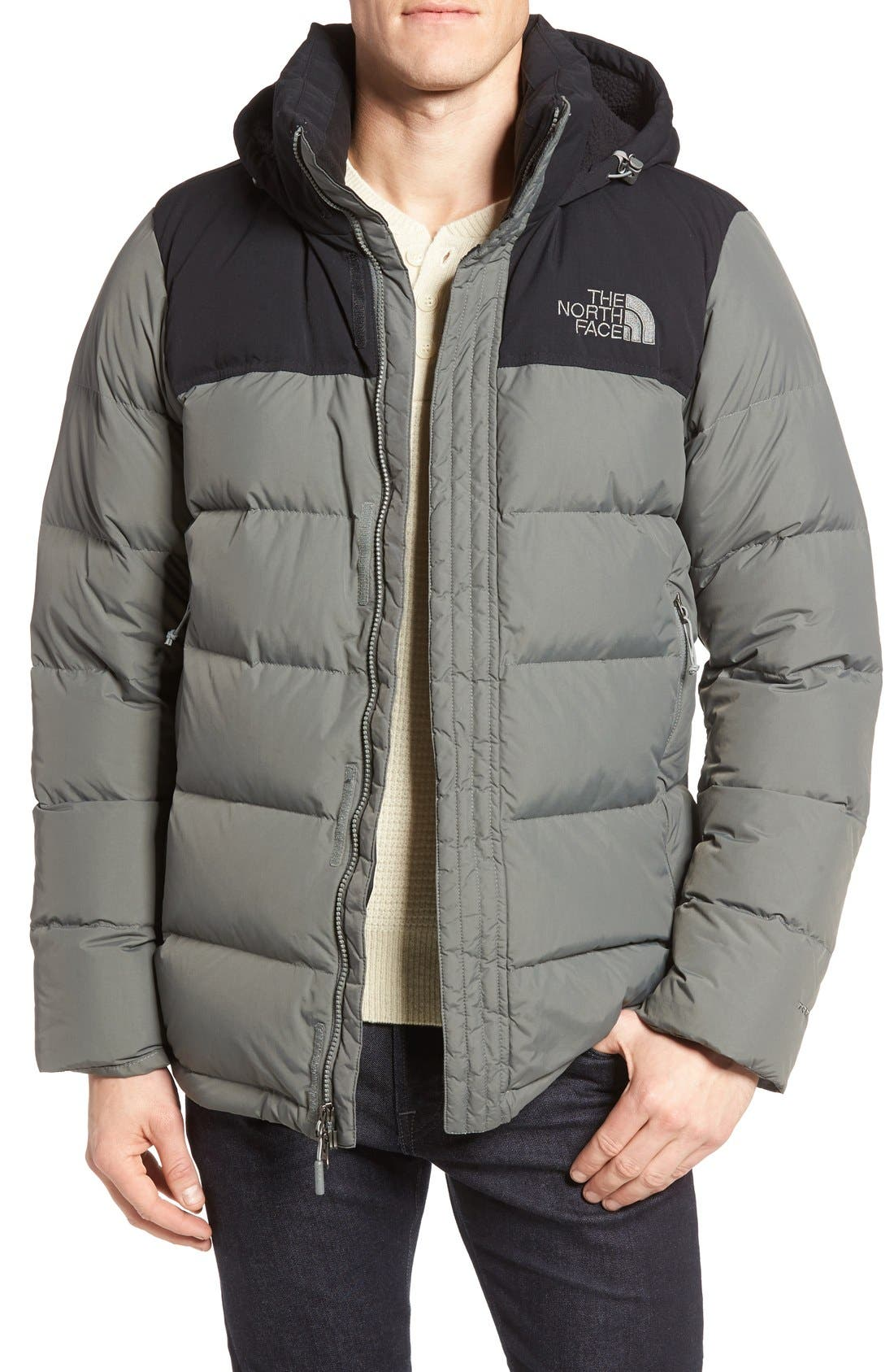 Nuptse Ridge Down Jacket,                             Main thumbnail 4, color,